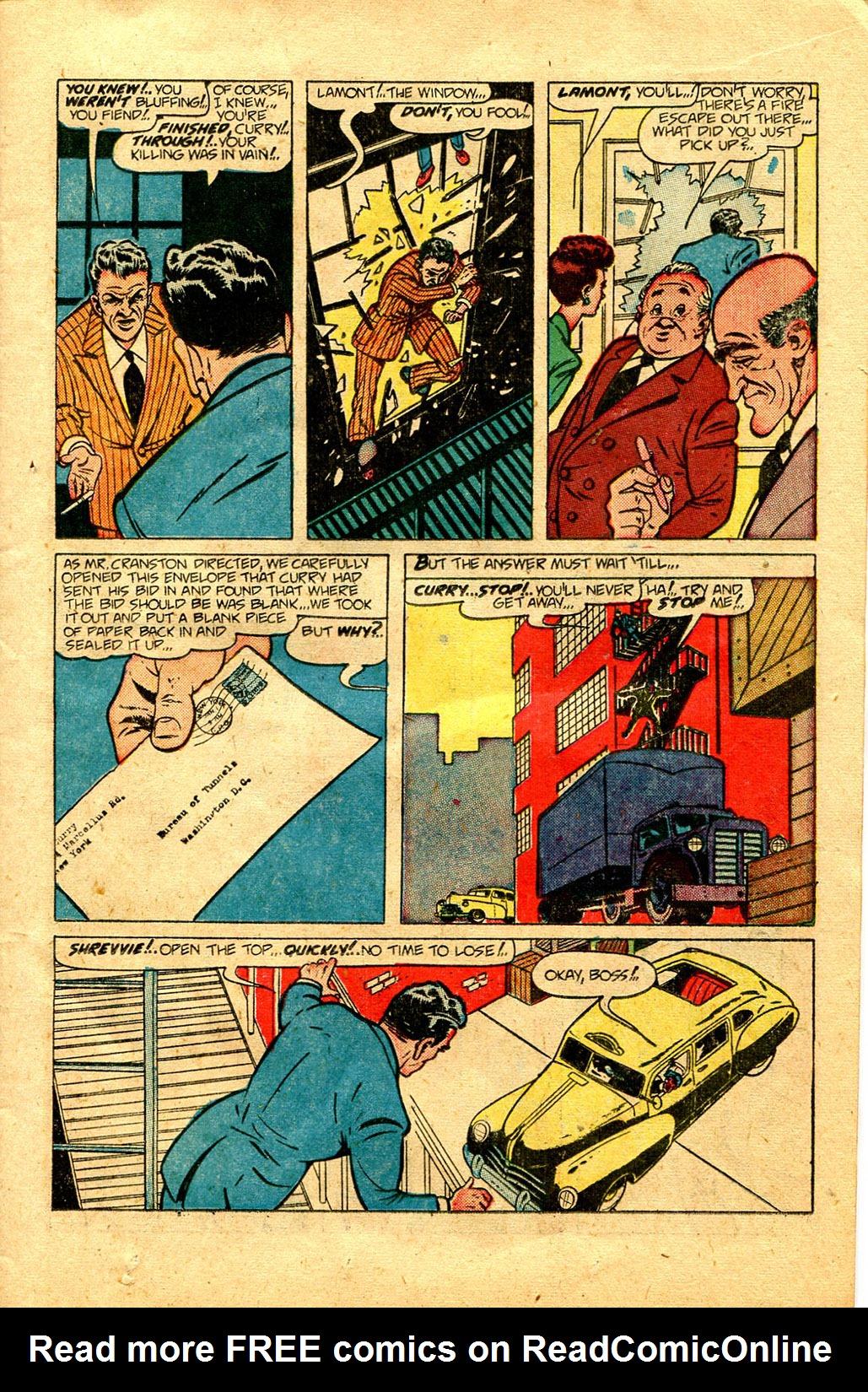 Read online Shadow Comics comic -  Issue #100 - 15