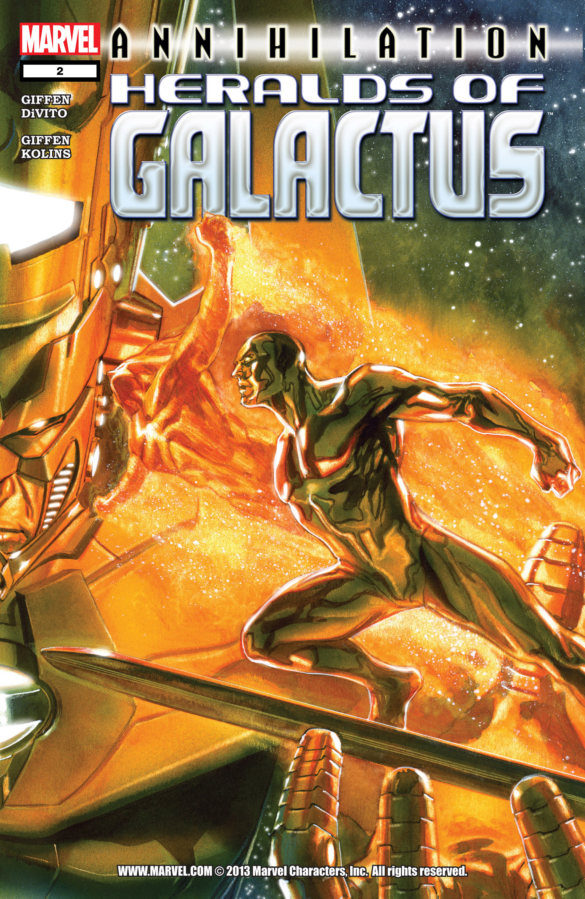 Annihilation: Heralds Of Galactus 2 Page 1