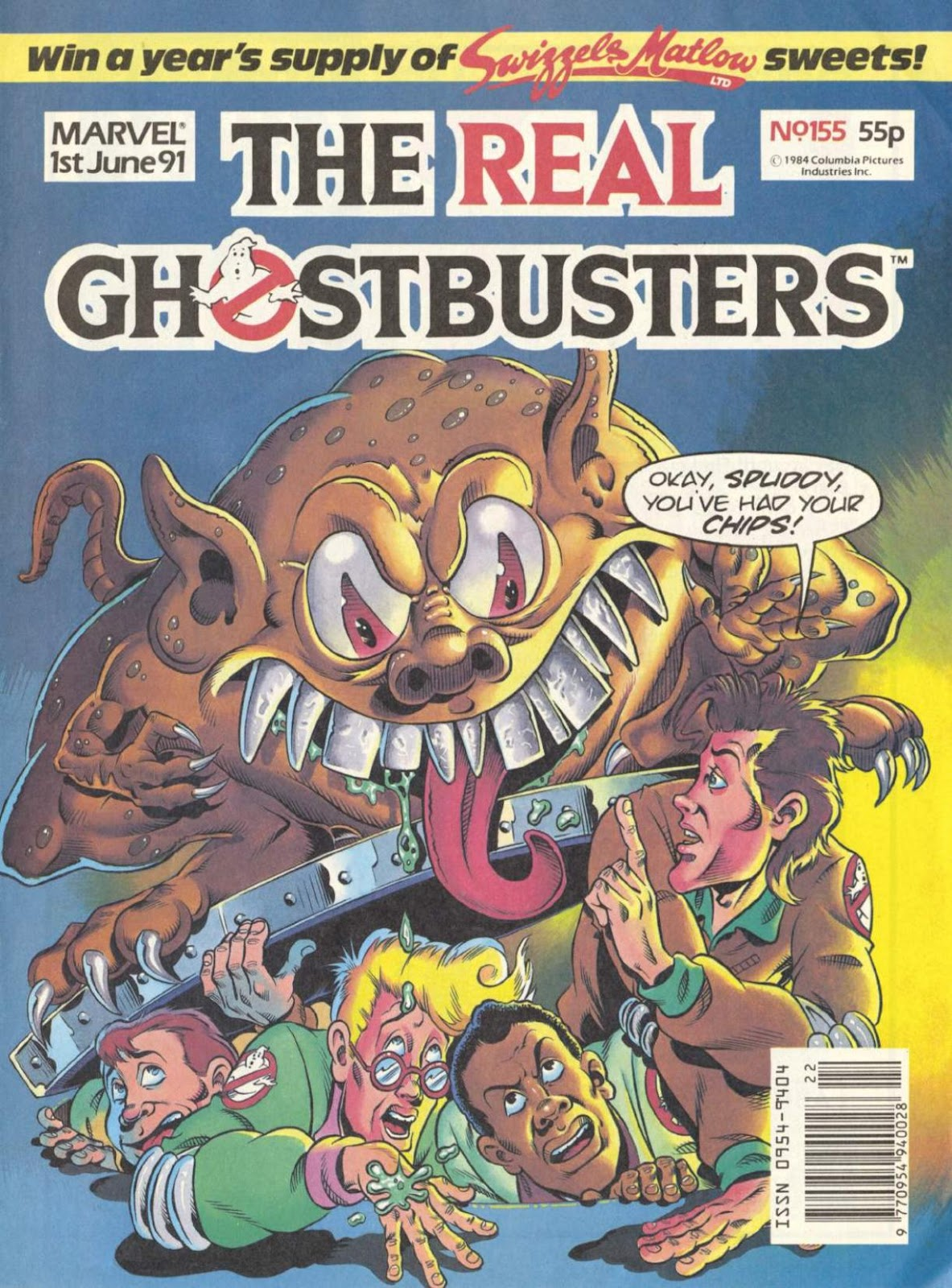The Real Ghostbusters 155 Page 1
