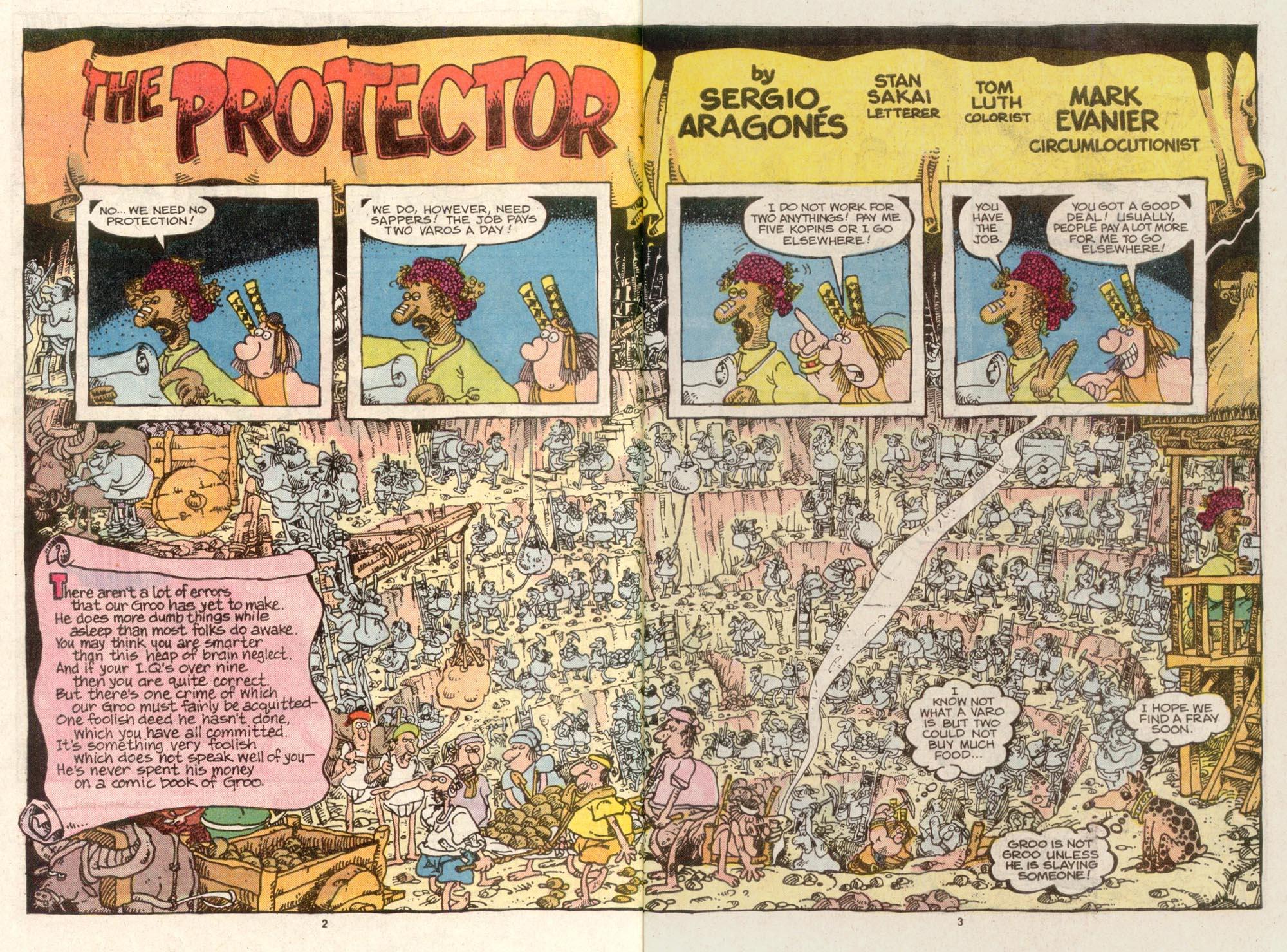 Read online Sergio Aragonés Groo the Wanderer comic -  Issue #49 - 3