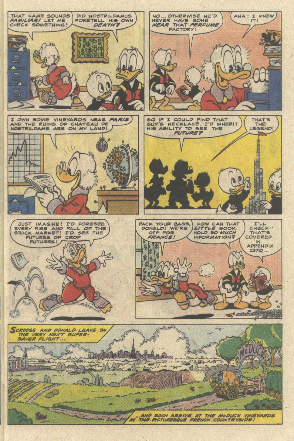 Read online Uncle Scrooge (1953) comic -  Issue #235 - 5