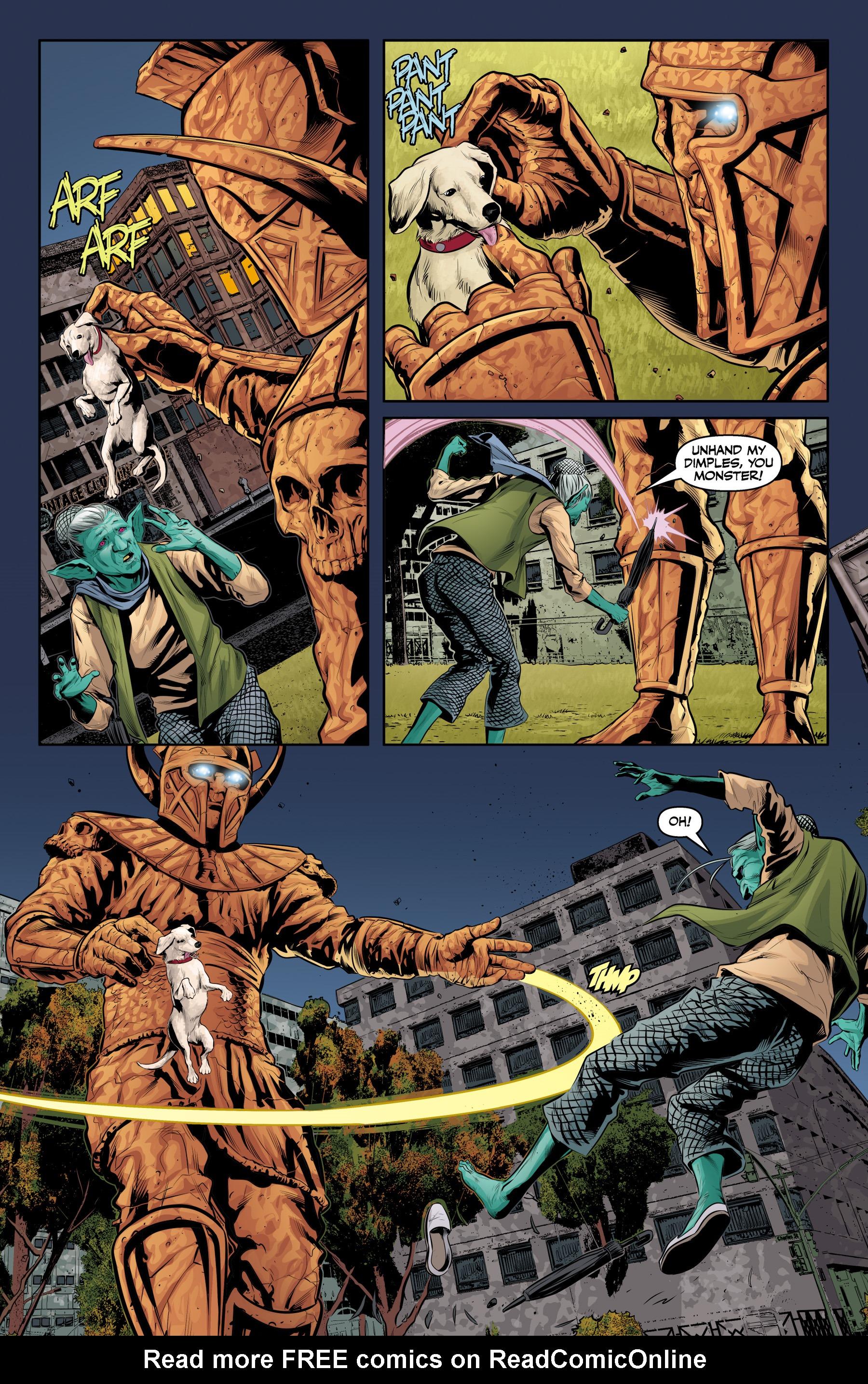Read online Angel & Faith Season 10 comic -  Issue #23 - 13