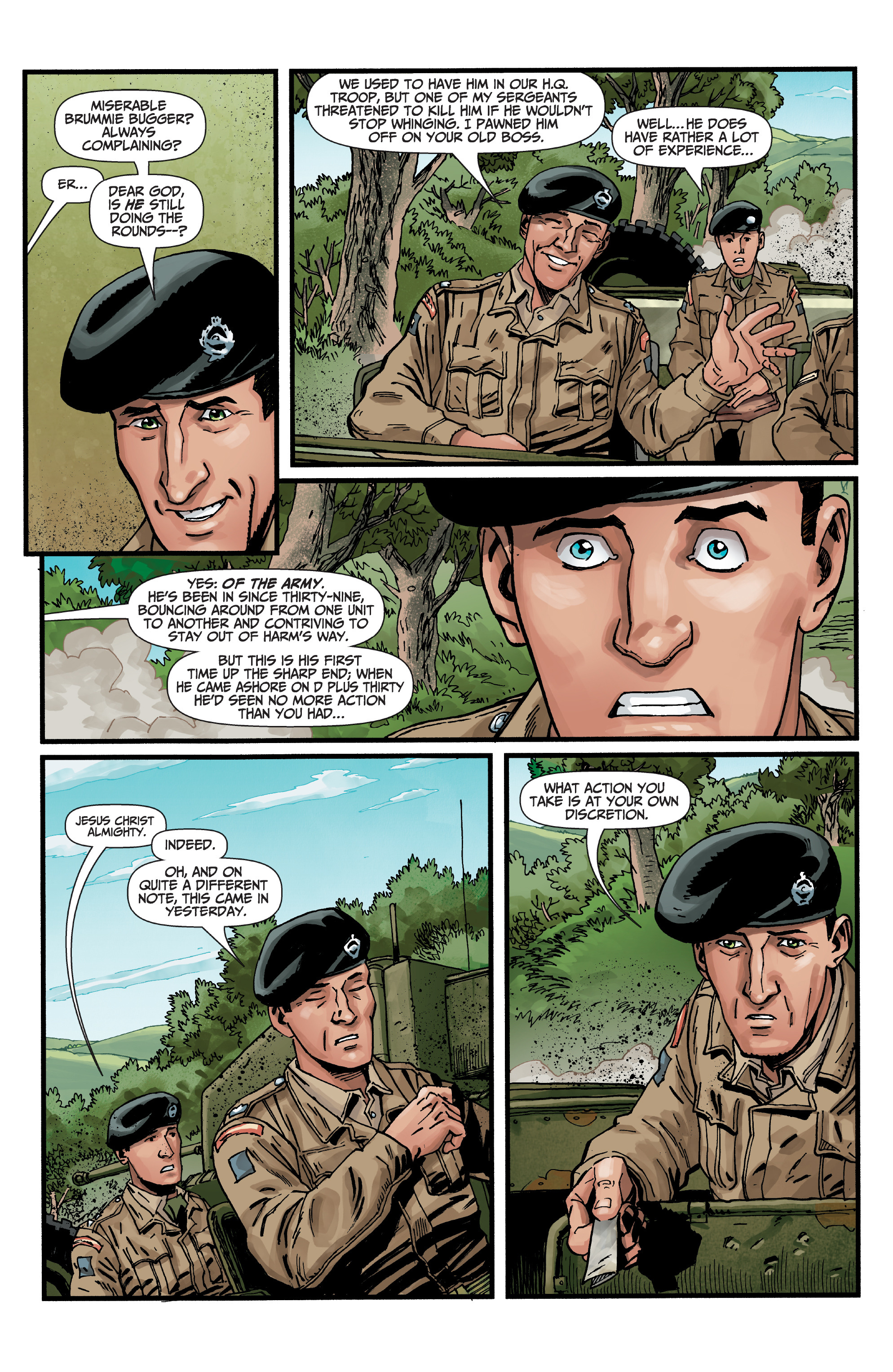 Read online World of Tanks comic -  Issue #5 - 5