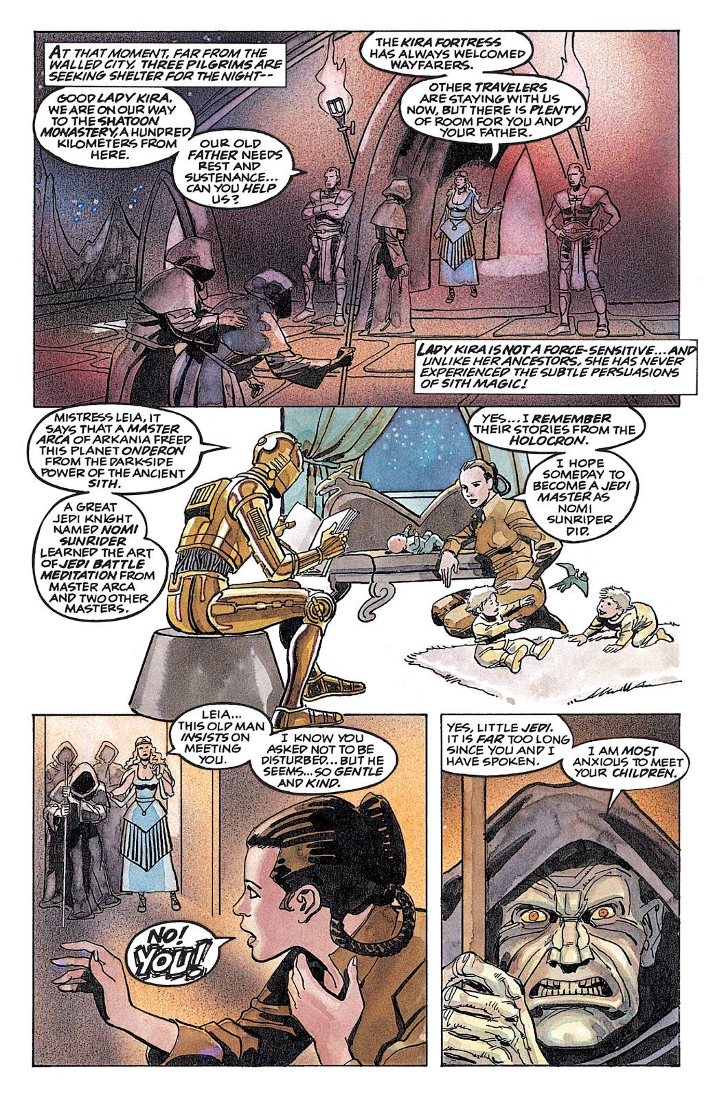 Read online Star Wars: Dark Empire Trilogy comic -  Issue # TPB (Part 4) - 46