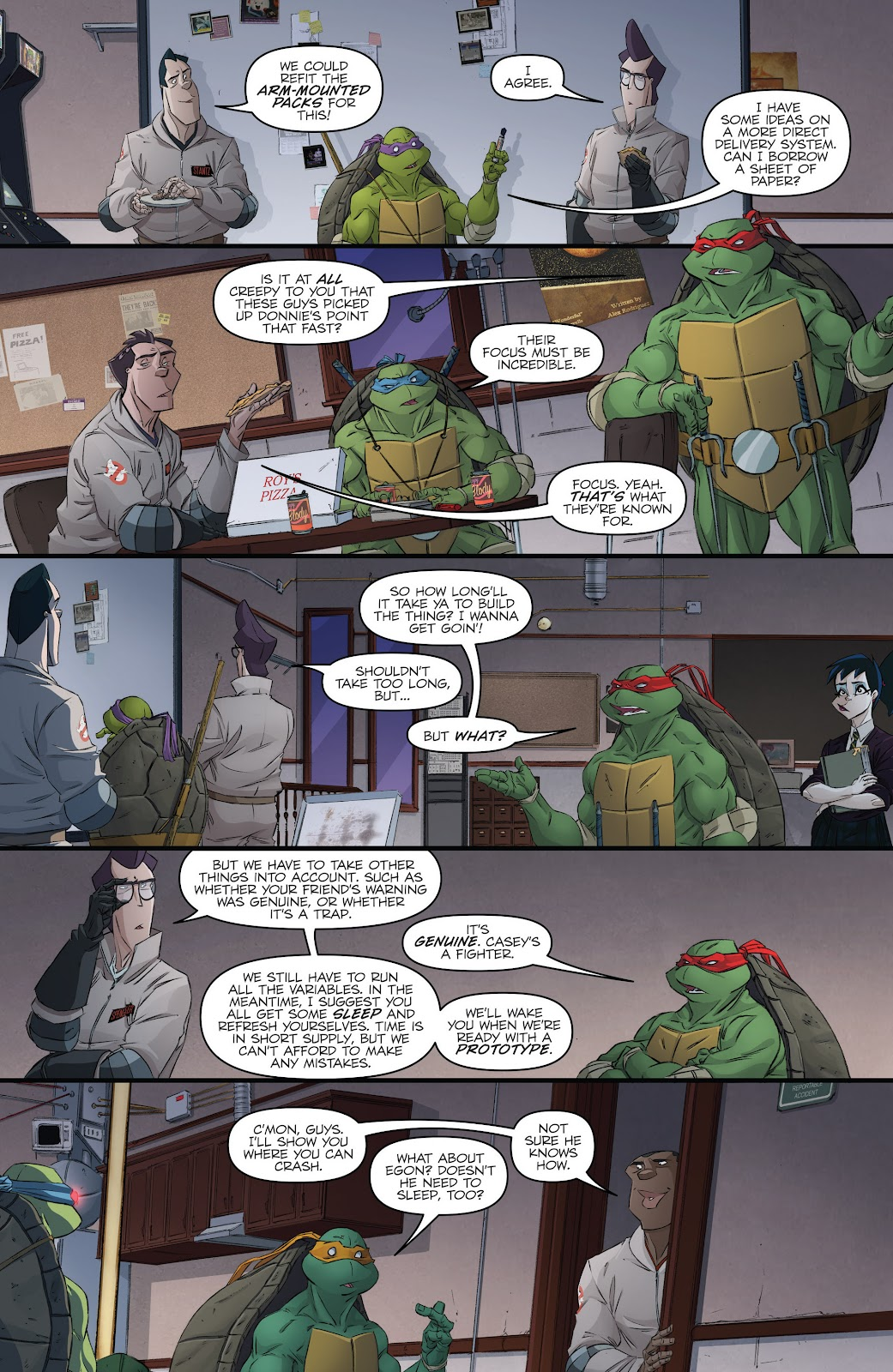 Read online Teenage Mutant Ninja Turtles: The IDW Collection comic -  Issue # TPB 5 (Part 3) - 25