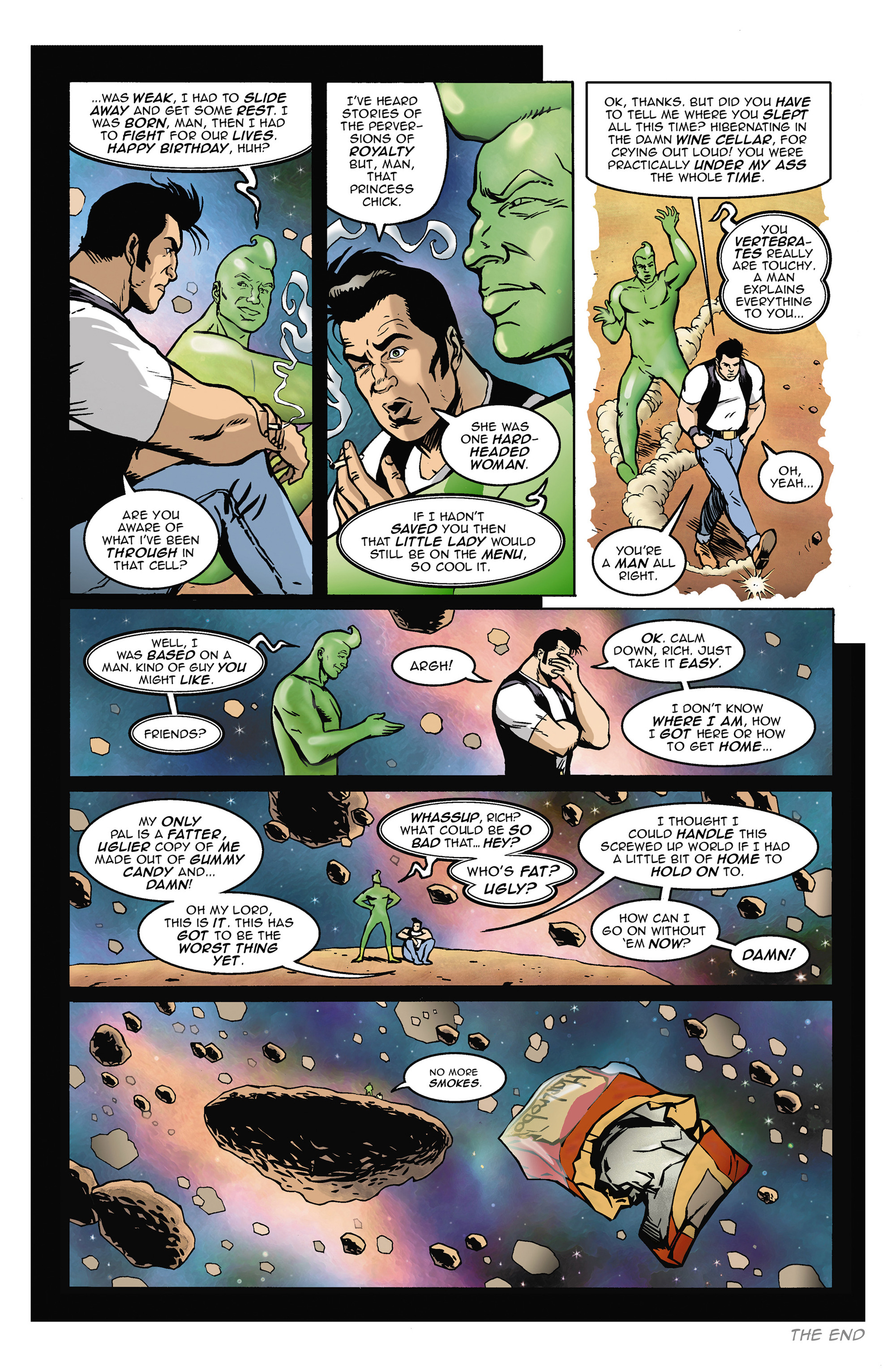 Read online 100% Biodegradable comic -  Issue #14 - 14