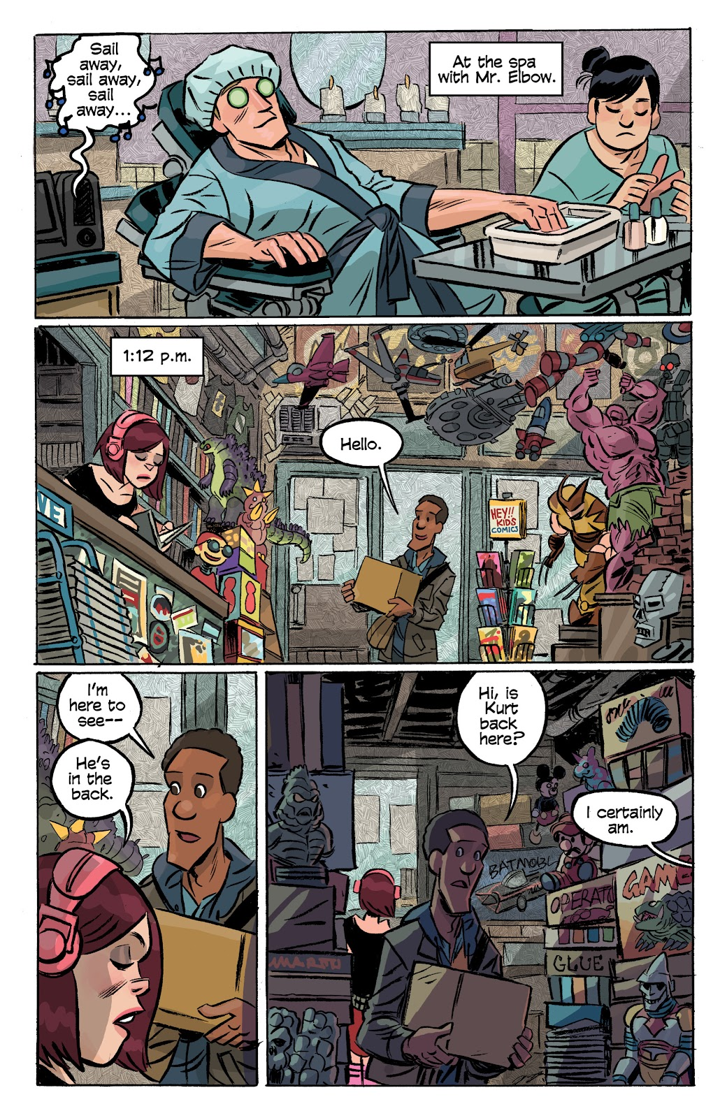 Read online Cellies comic -  Issue #8 - 13