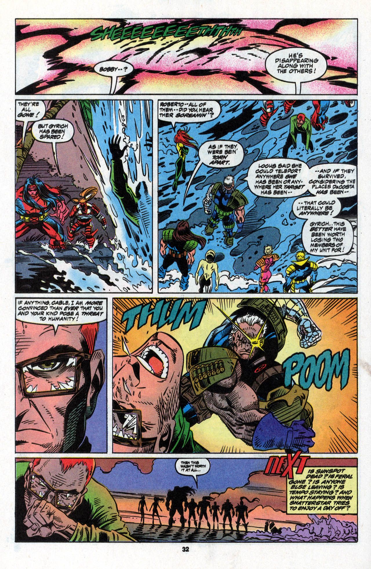 Read online X-Force (1991) comic -  Issue #28 - 32