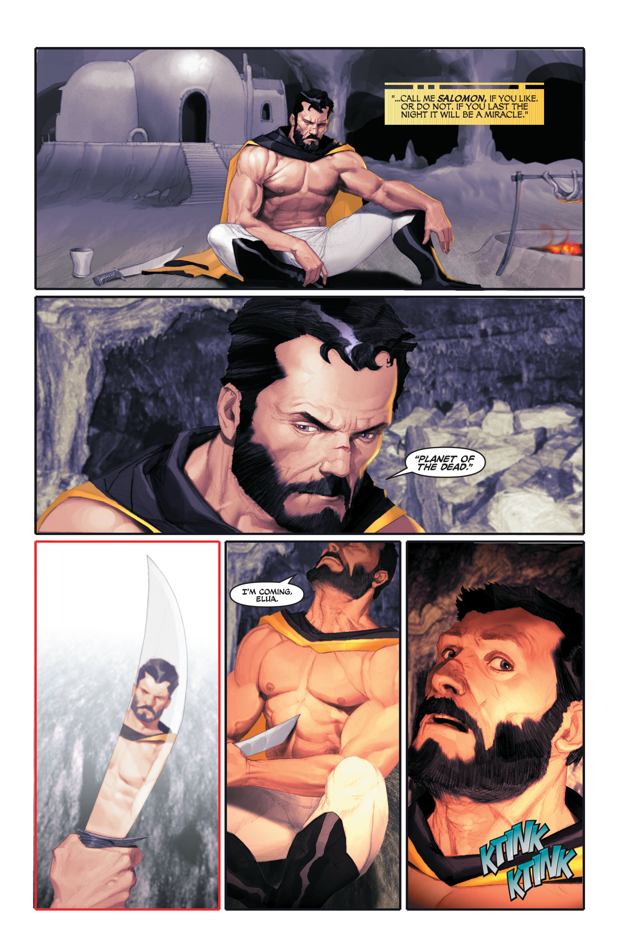 Read online Space Ghost (2016) comic -  Issue # Full - 36