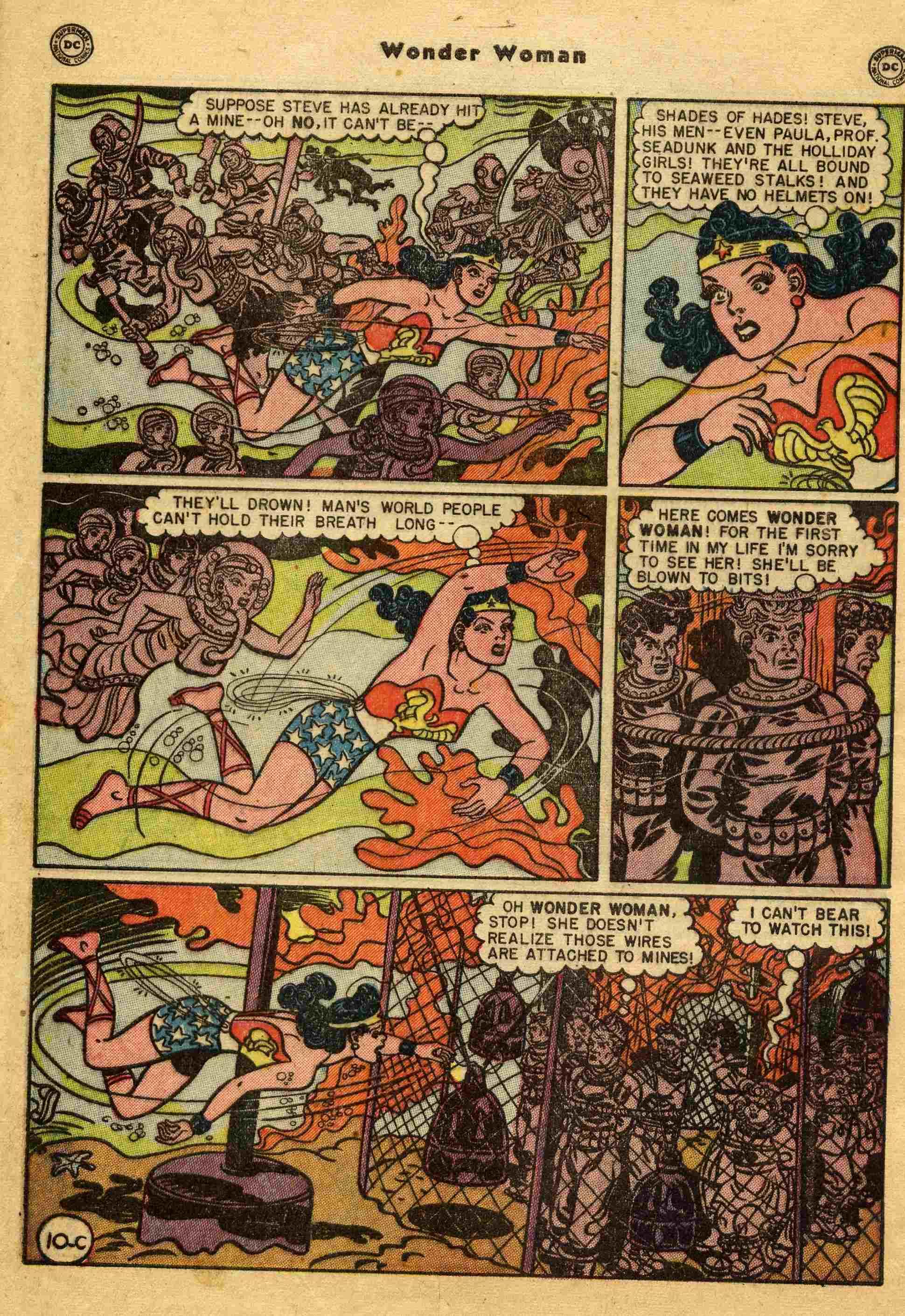 Read online Wonder Woman (1942) comic -  Issue #44 - 35