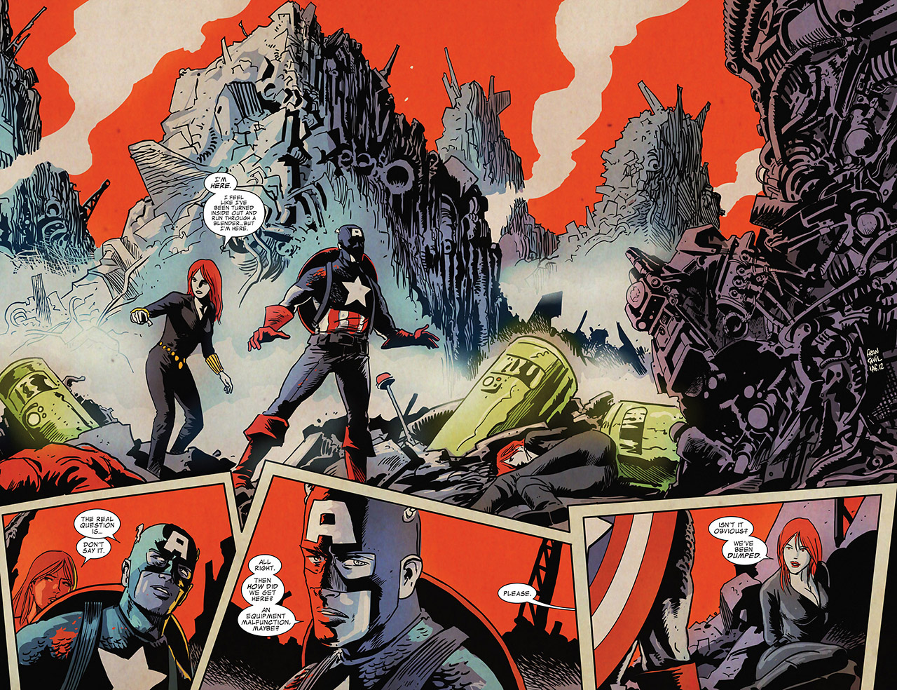 Read online Captain America And Black Widow comic -  Issue #637 - 15