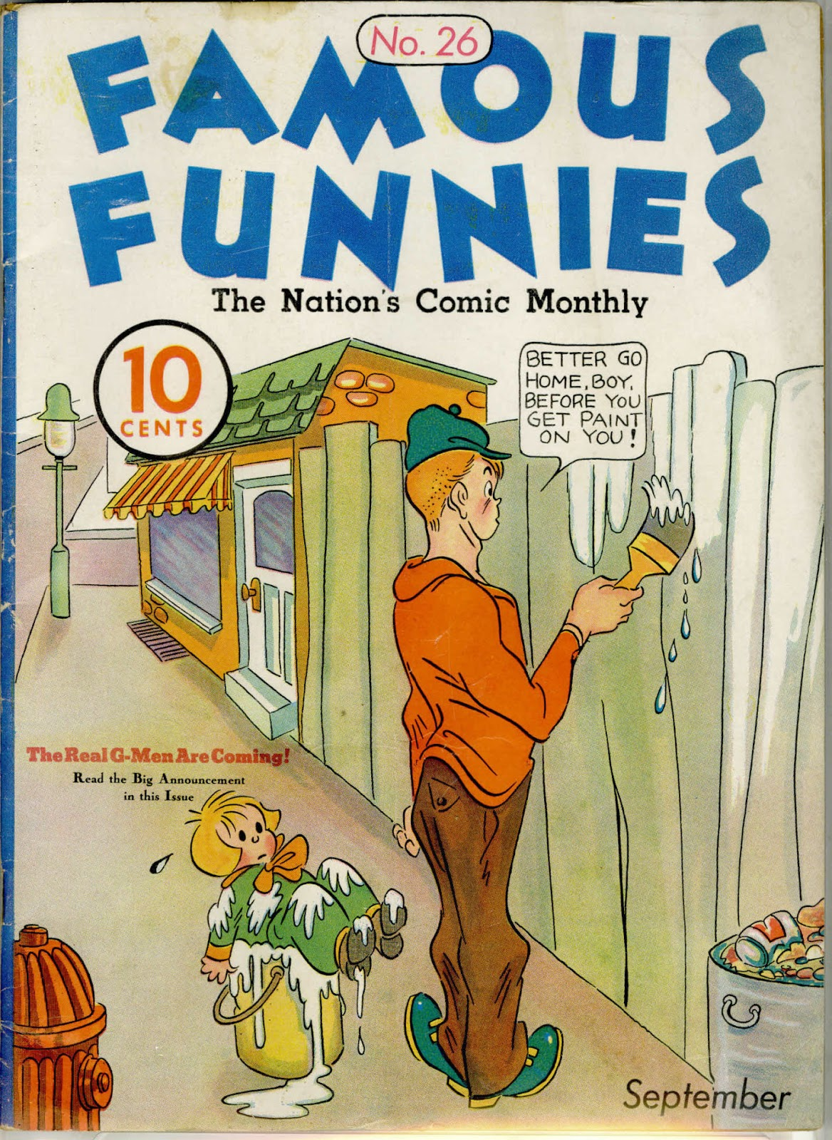 Read online Famous Funnies comic -  Issue #26 - 2
