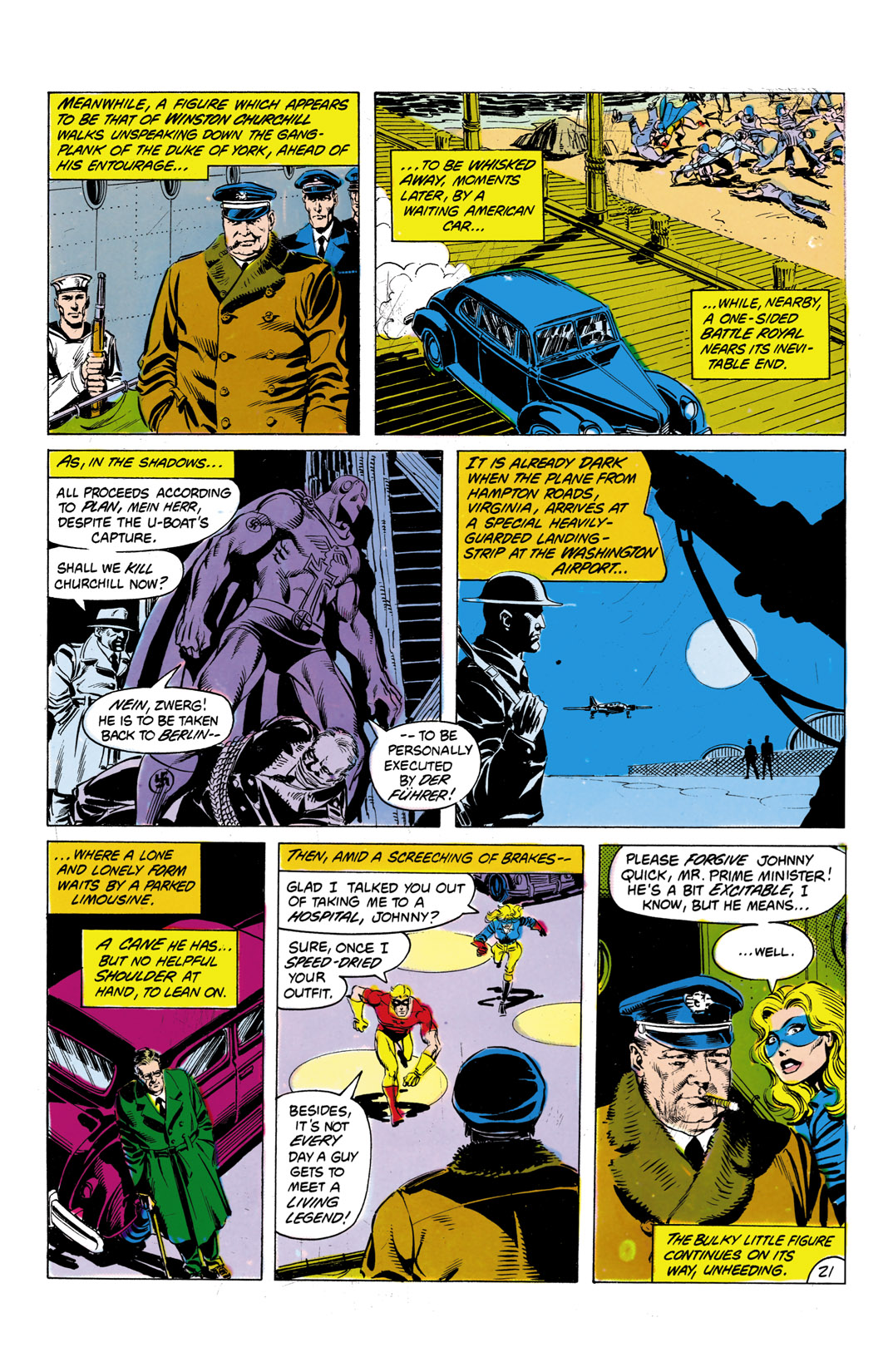 Read online All-Star Squadron comic -  Issue #7 - 22