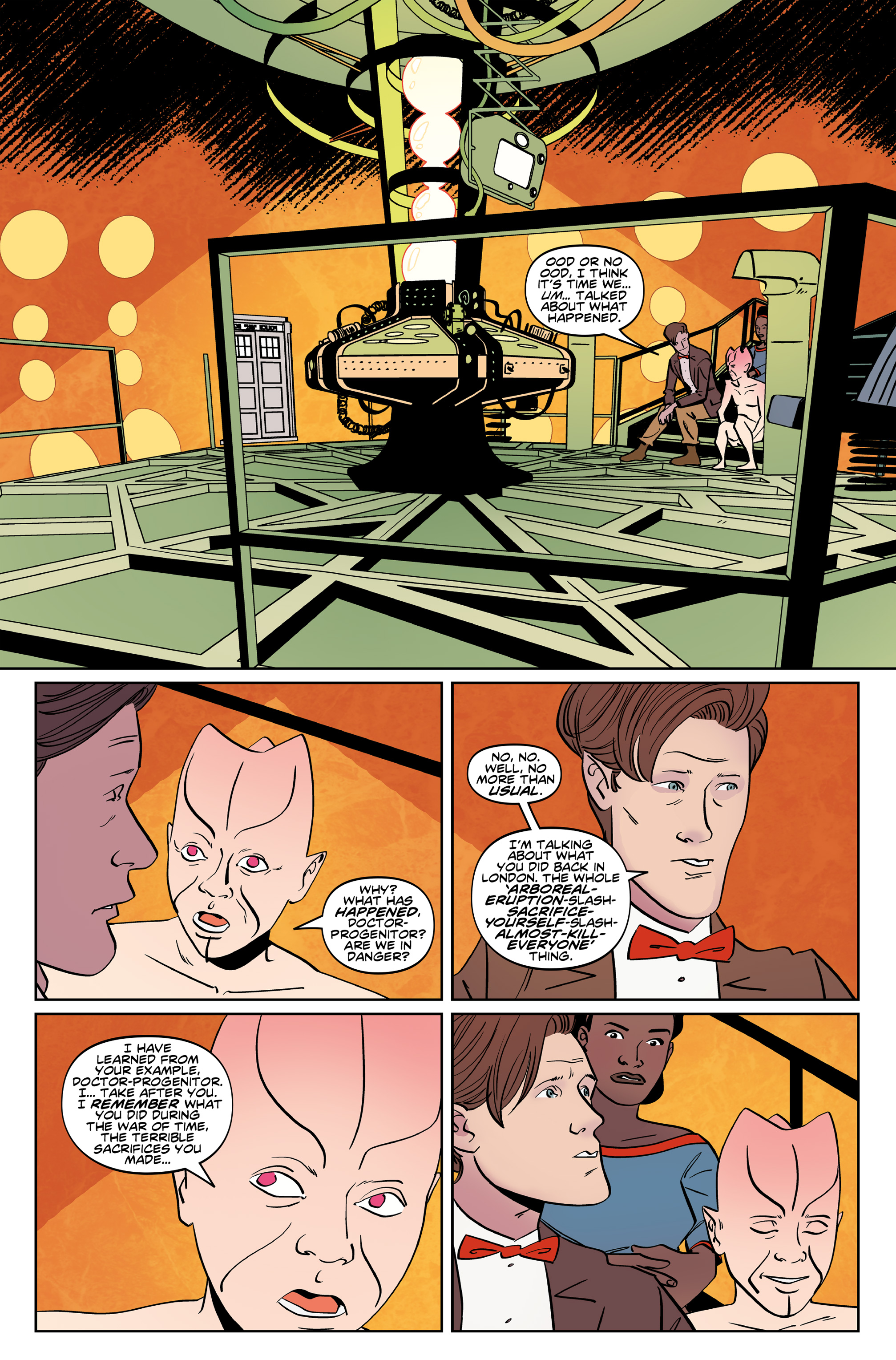 Read online Doctor Who: The Eleventh Doctor Year Three comic -  Issue #6 - 6