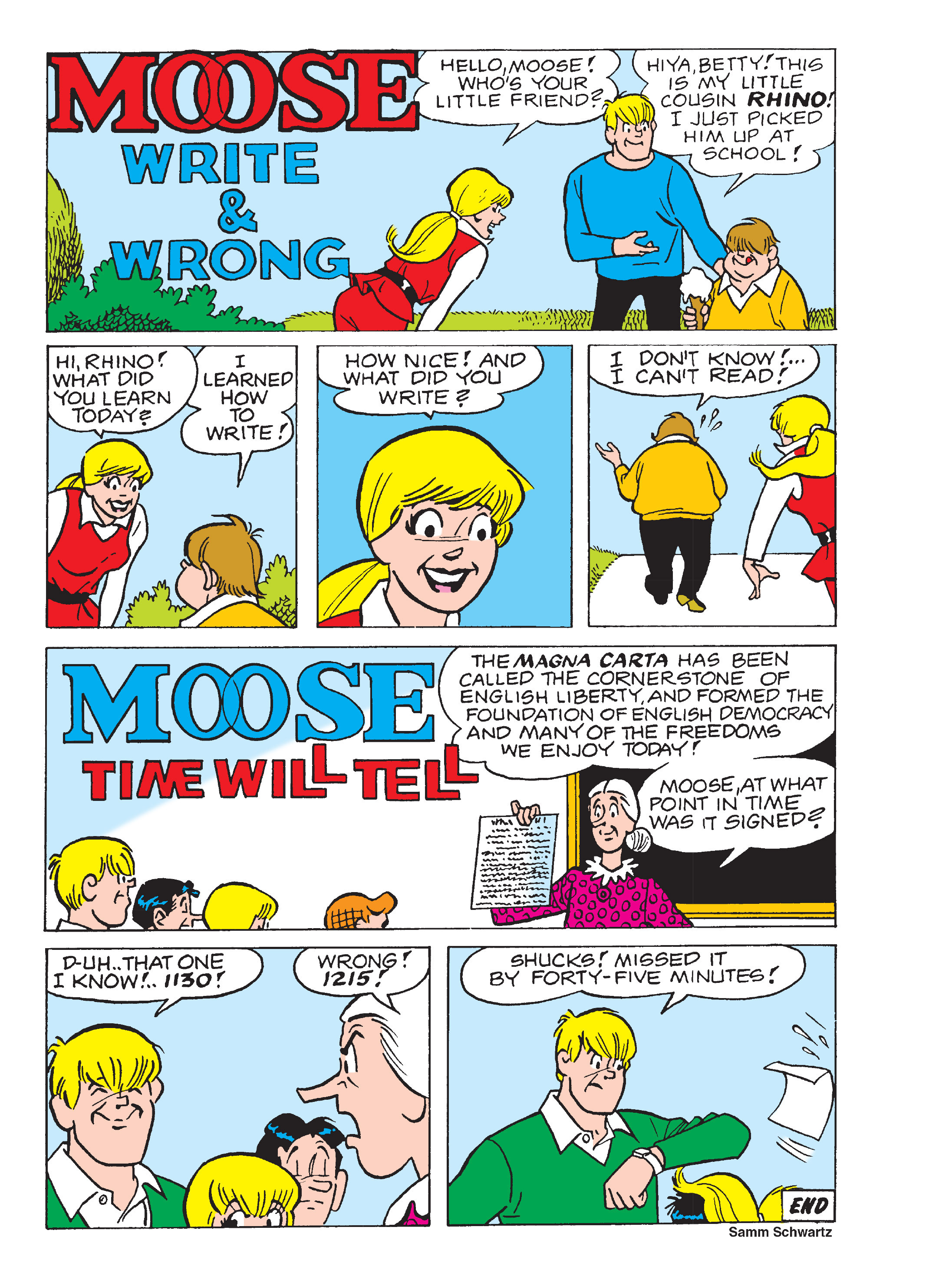Read online Archie's Funhouse Double Digest comic -  Issue #13 - 61