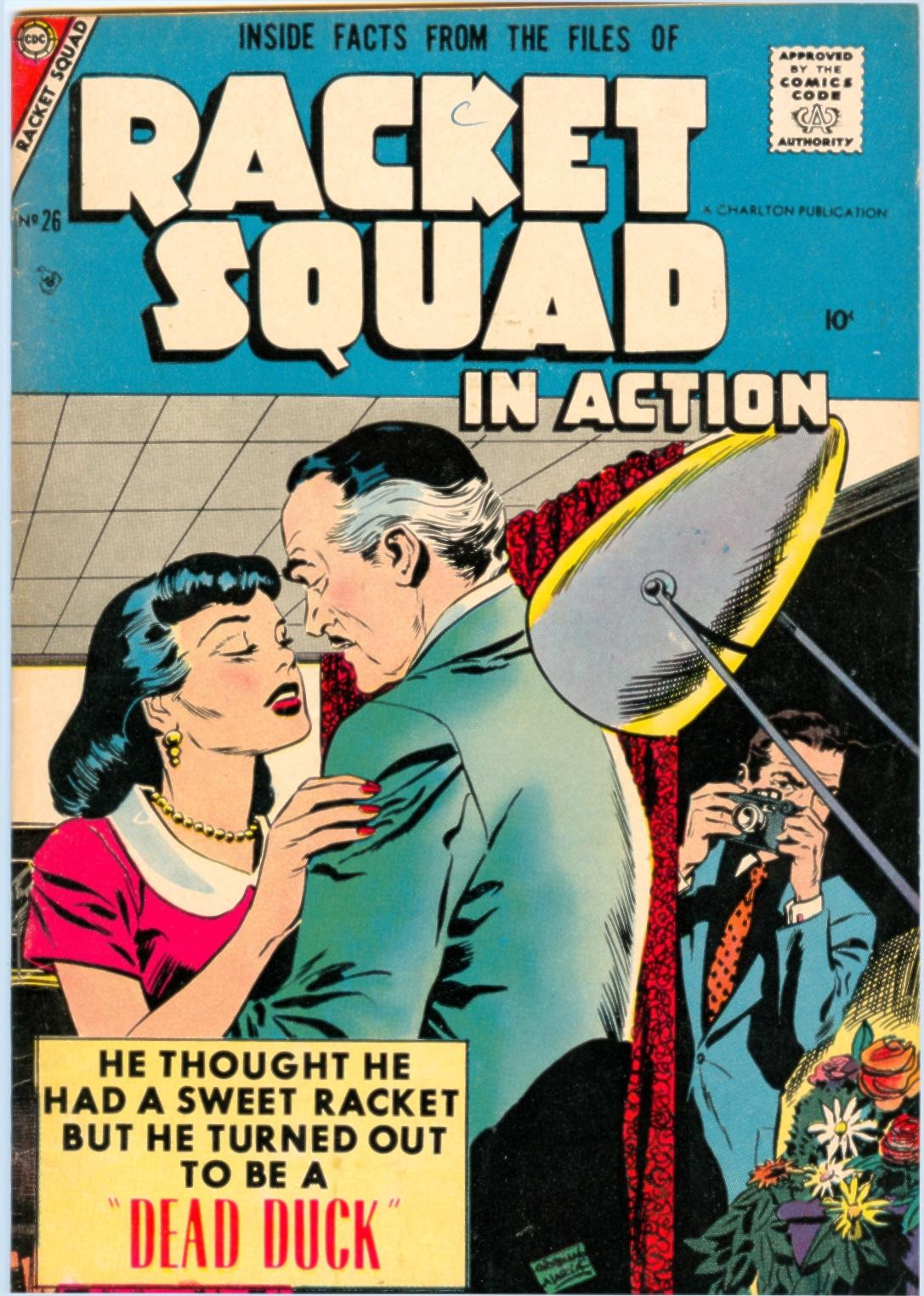 Read online Racket Squad in Action comic -  Issue #26 - 1