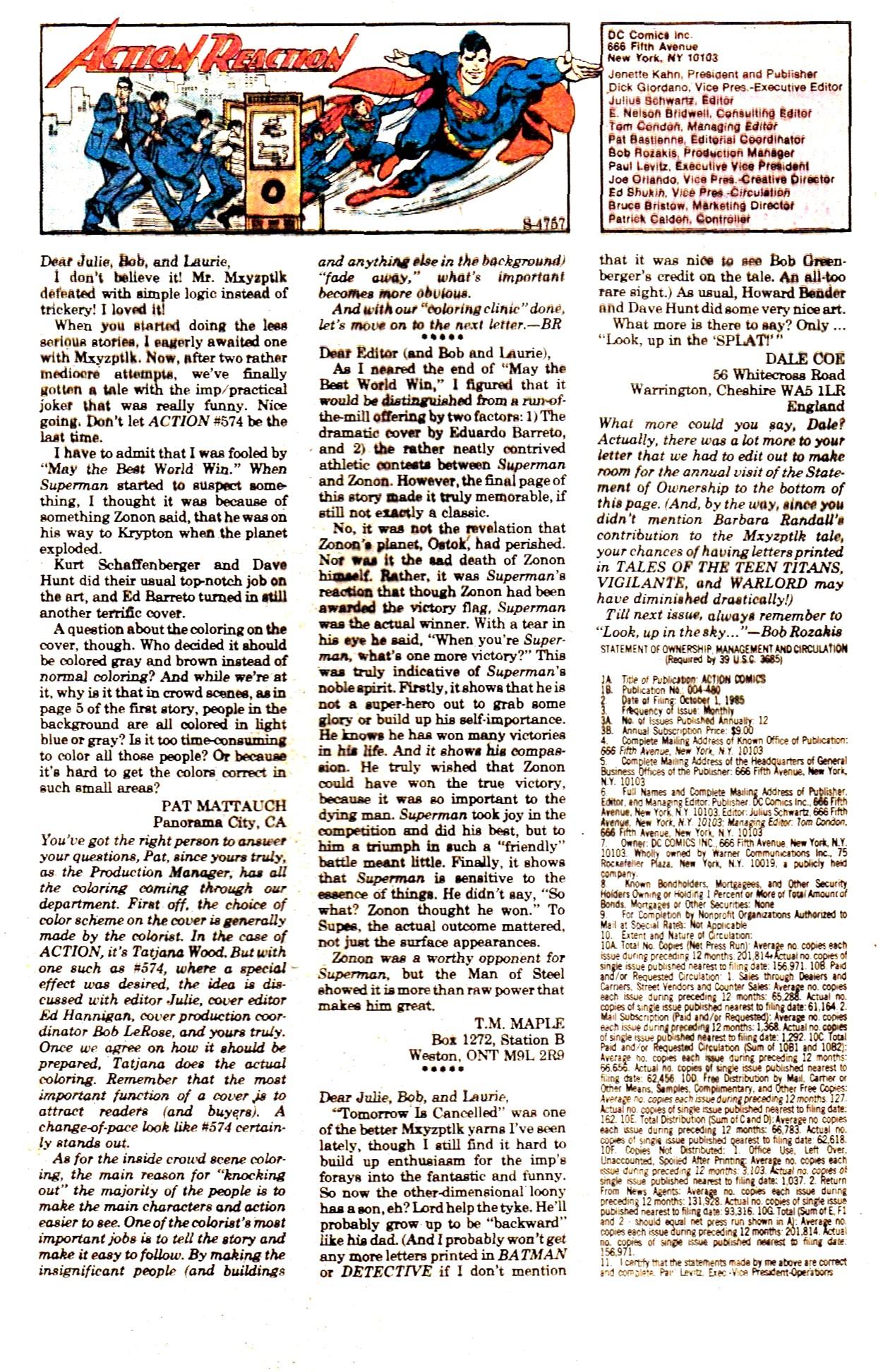 Action Comics (1938) 578 Page 32