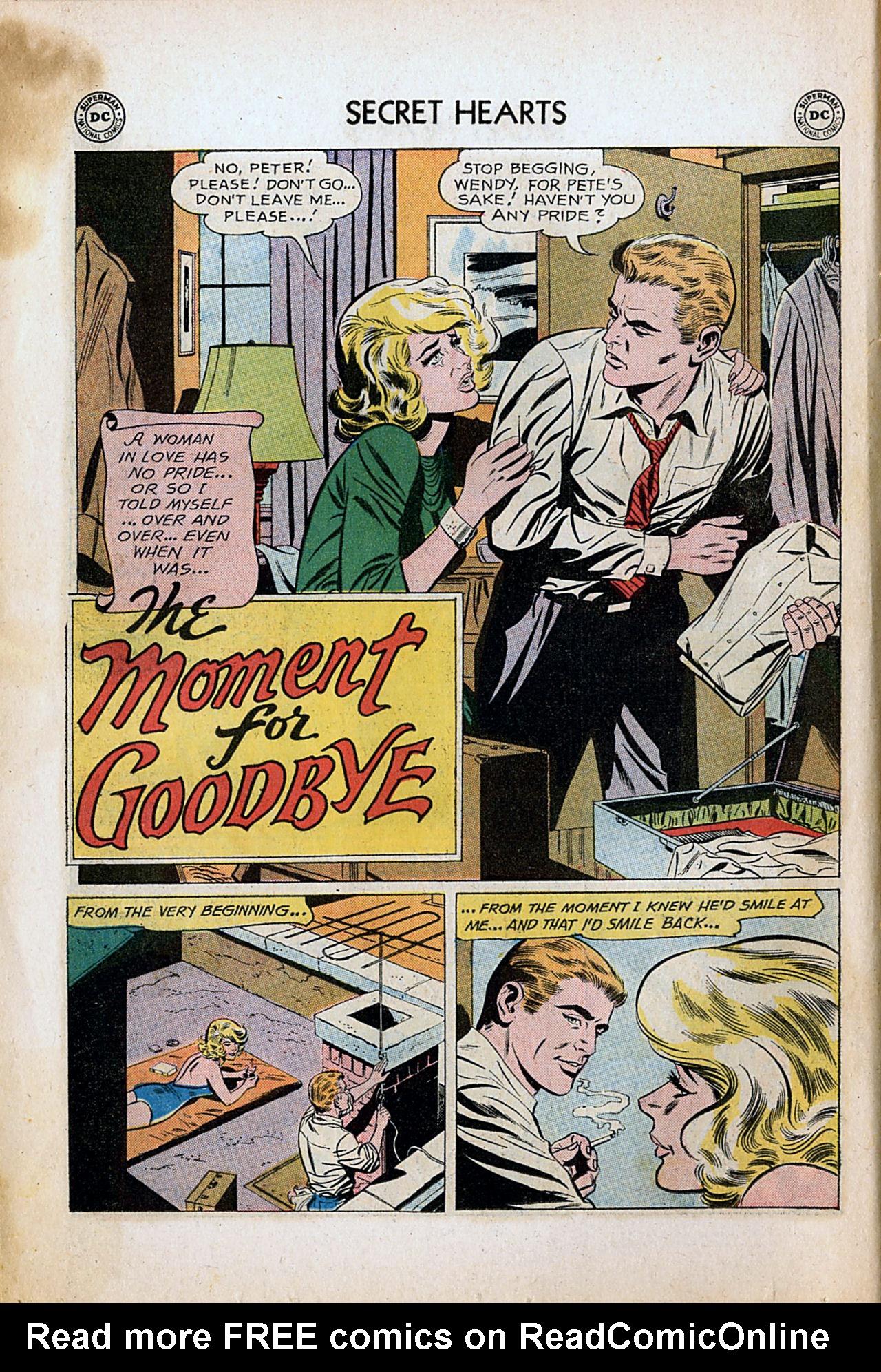 Read online Secret Hearts comic -  Issue #80 - 10