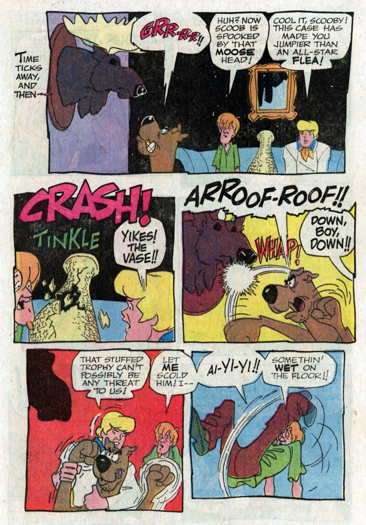 Read online Scooby-Doo... Where Are You! (1970) comic -  Issue #13 - 21