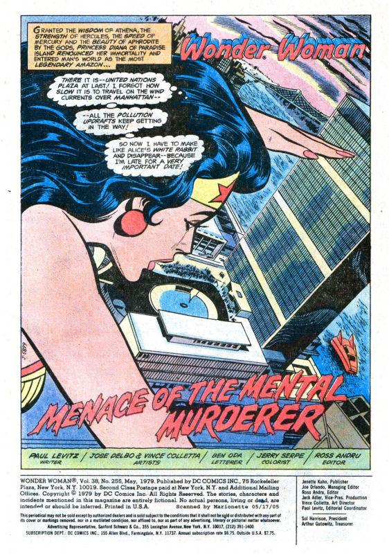 Read online Wonder Woman (1942) comic -  Issue #255 - 3