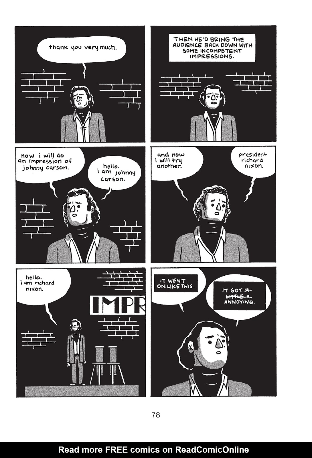 Read online Is This Guy For Real?: The Unbelievable Andy Kaufman comic -  Issue # TPB (Part 1) - 83