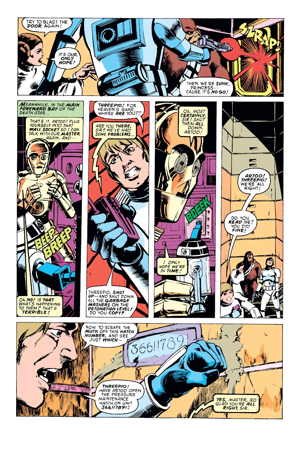Read online Star Wars Legends: The Original Marvel Years - Epic Collection comic -  Issue # TPB 1 (Part 1) - 68