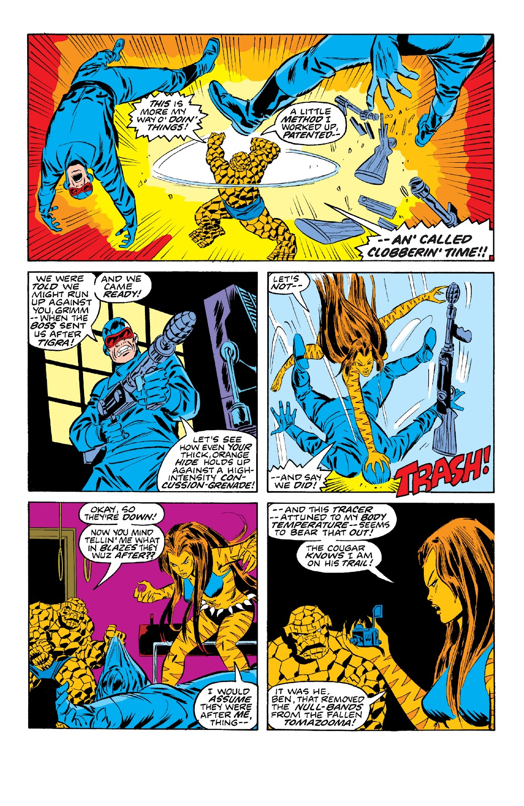 Read online Marvel Two-In-One Epic Collection: Cry Monster comic -  Issue # TPB (Part 4) - 111