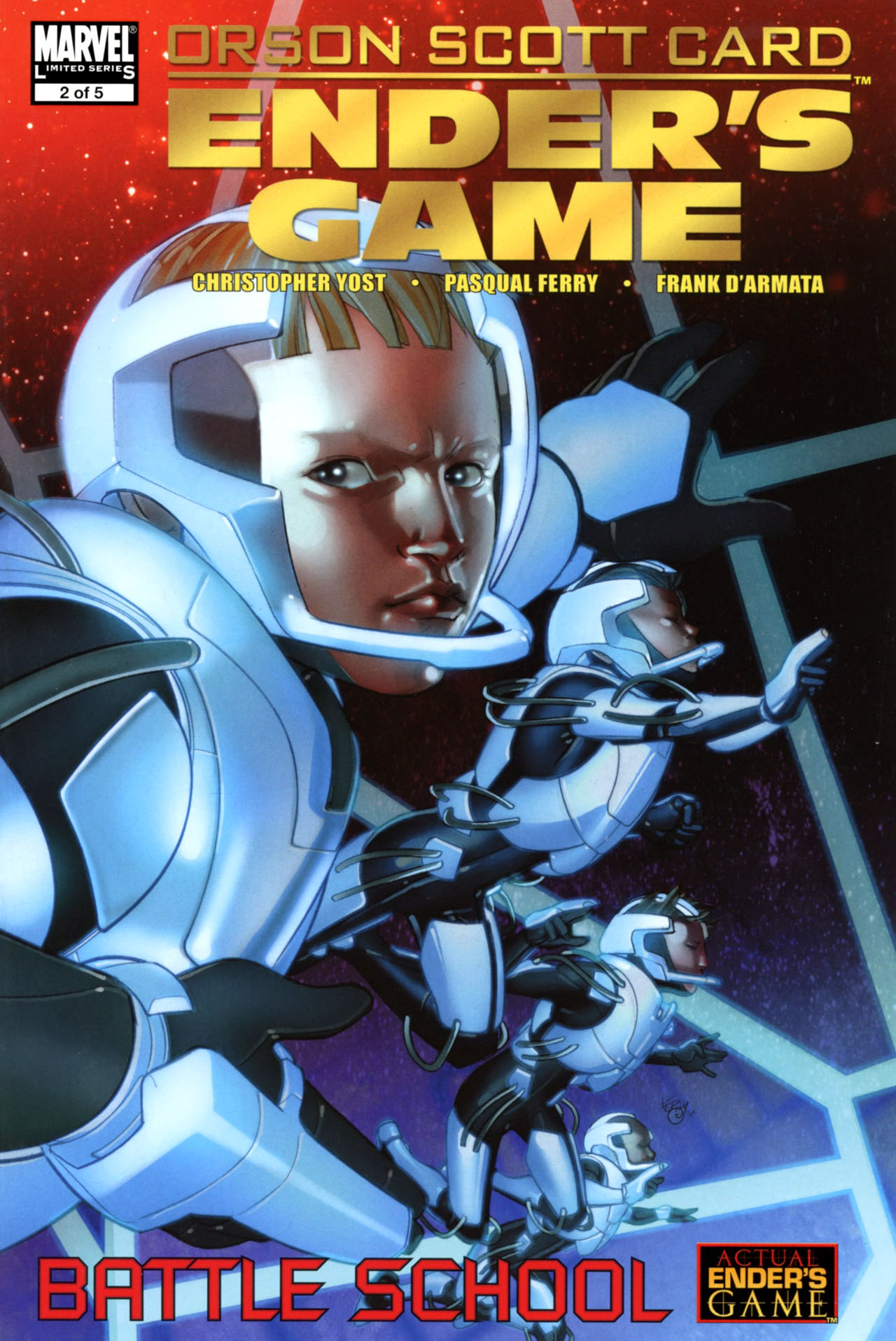 Read online Ender's Game: Battle School comic -  Issue #2 - 1