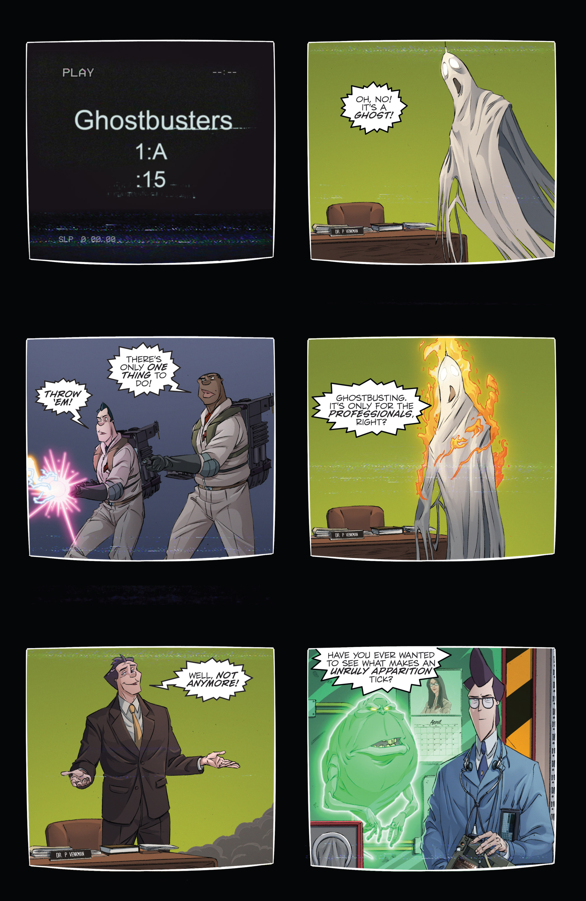 Read online Ghostbusters 101 comic -  Issue #2 - 11
