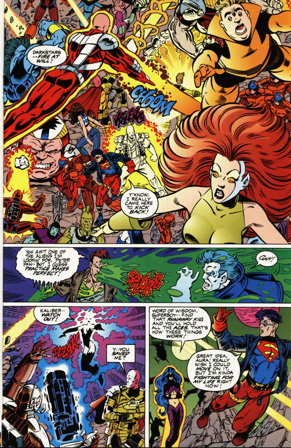 Read online Superboy & The Ravers comic -  Issue #3 - 20