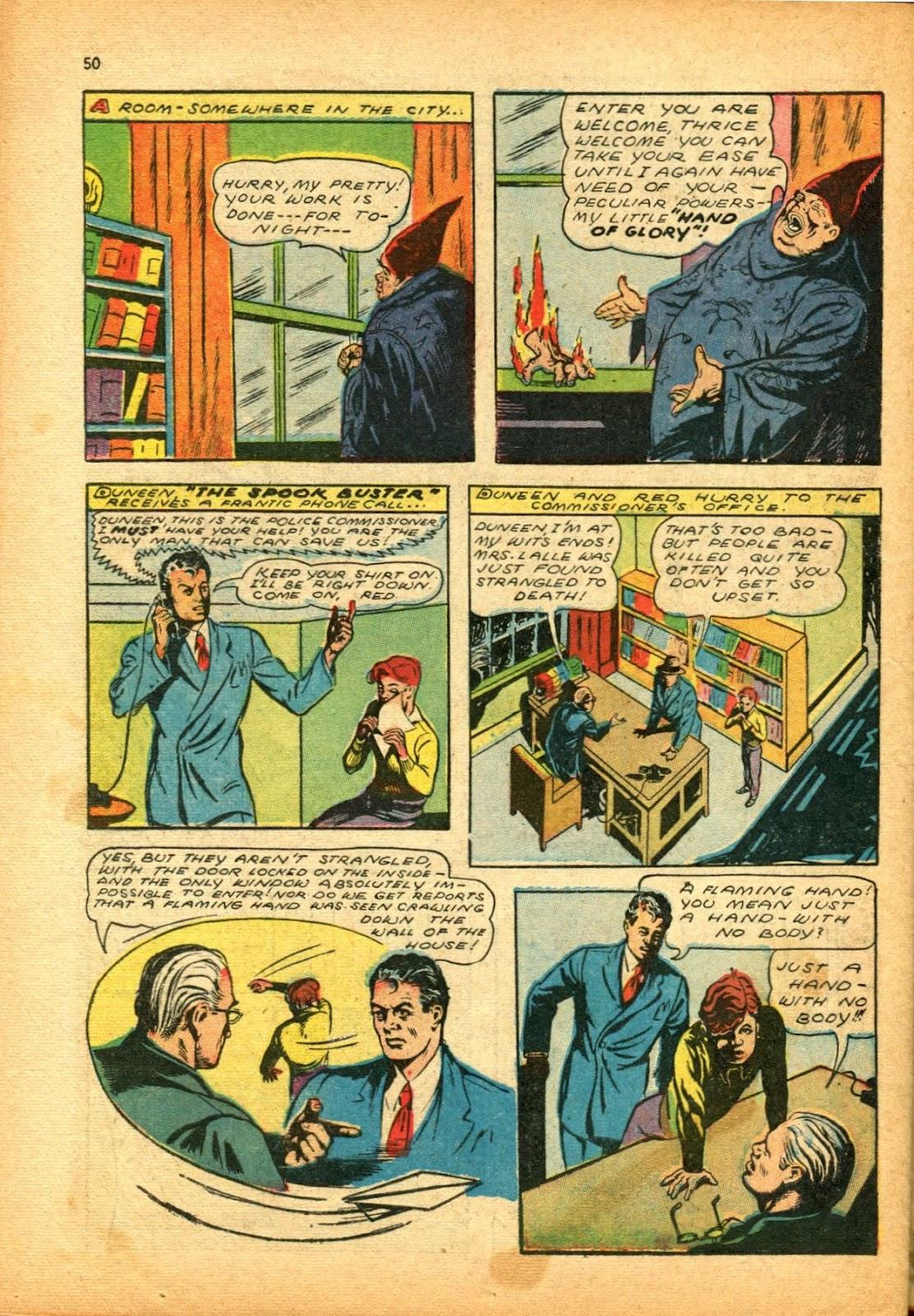 Read online Super-Magician Comics comic -  Issue #12 - 50