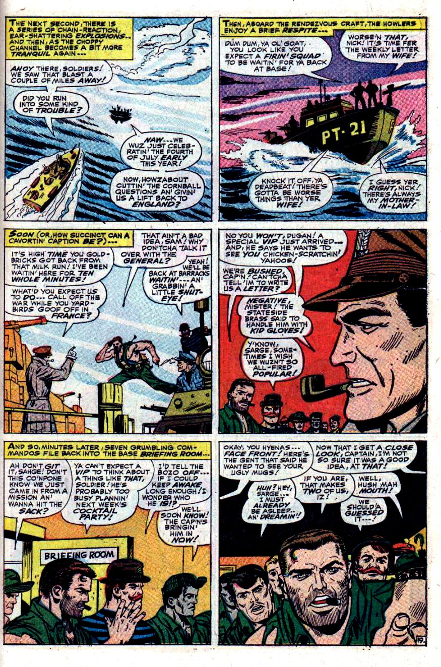 Read online Sgt. Fury comic -  Issue #40 - 27