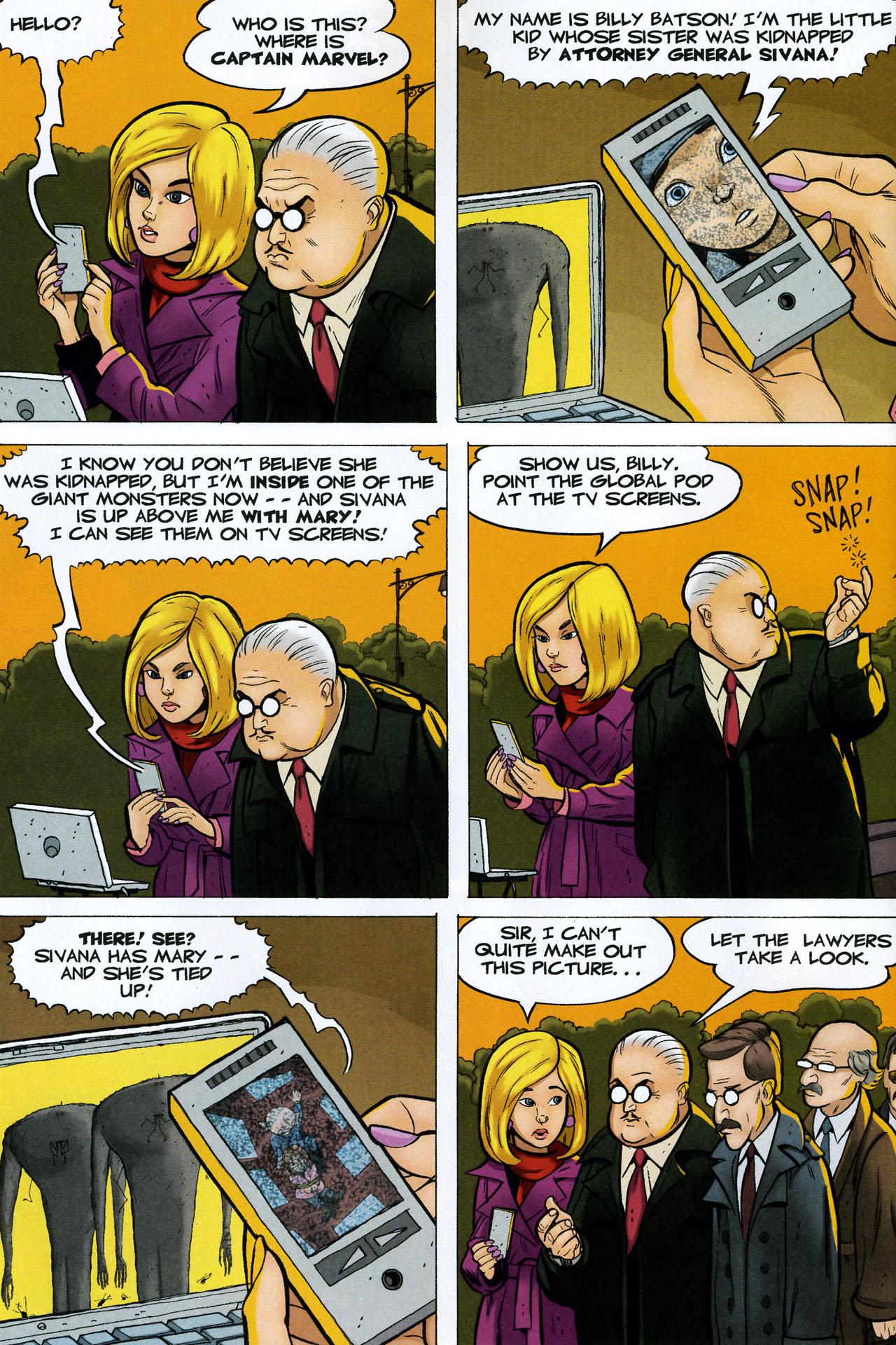 Read online Shazam!: The Monster Society of Evil comic -  Issue #4 - 12