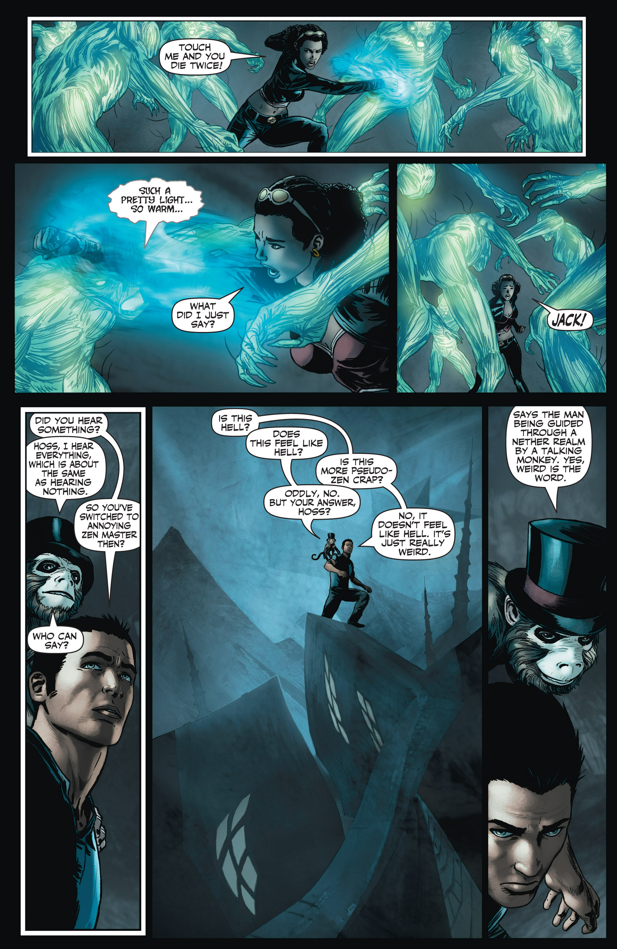 Read online Shadowman (2012) comic -  Issue #3 - 15