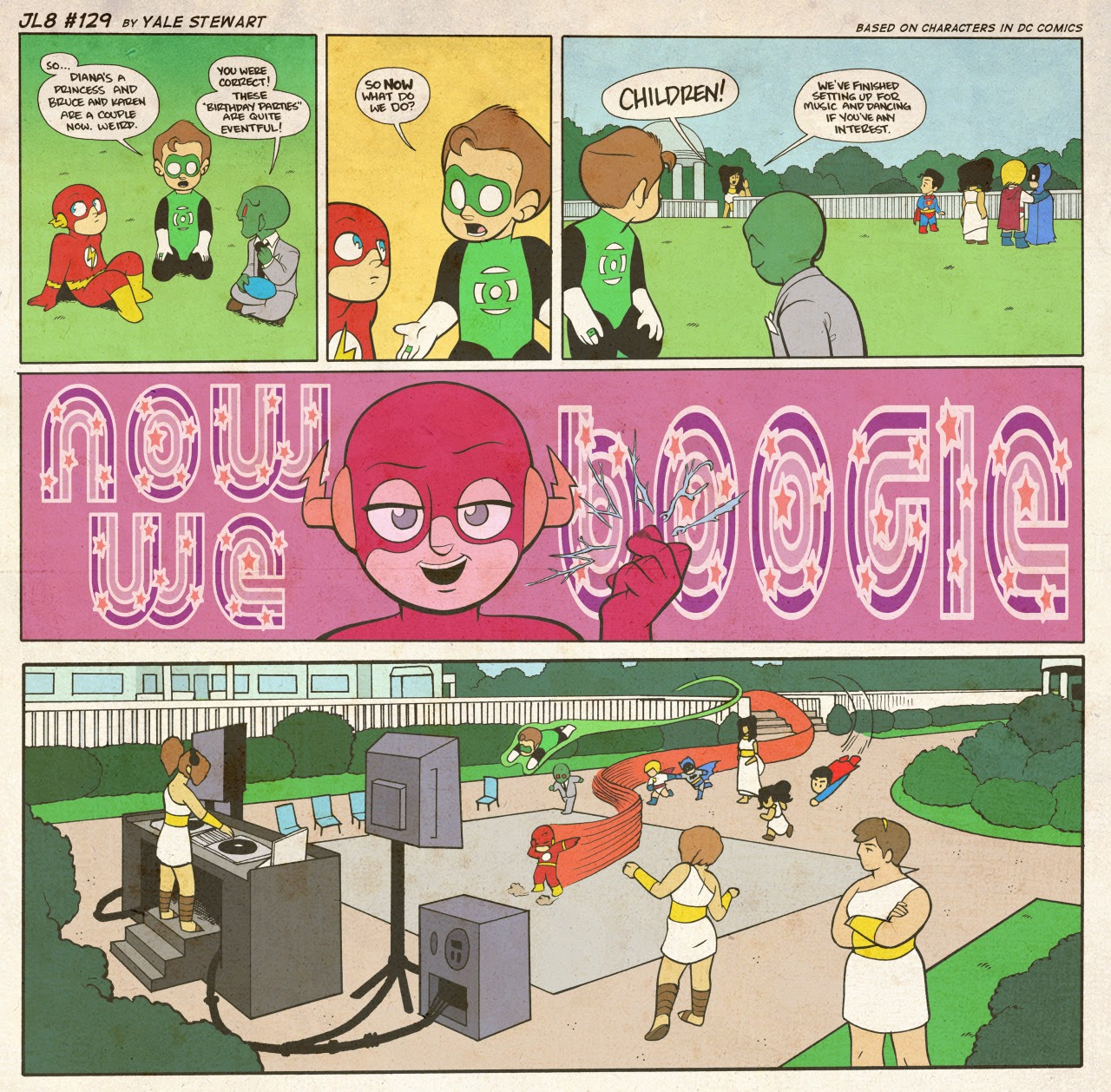 Read online JL8 – The Complete Collection comic -  Issue # TPB (Part 1) - 69