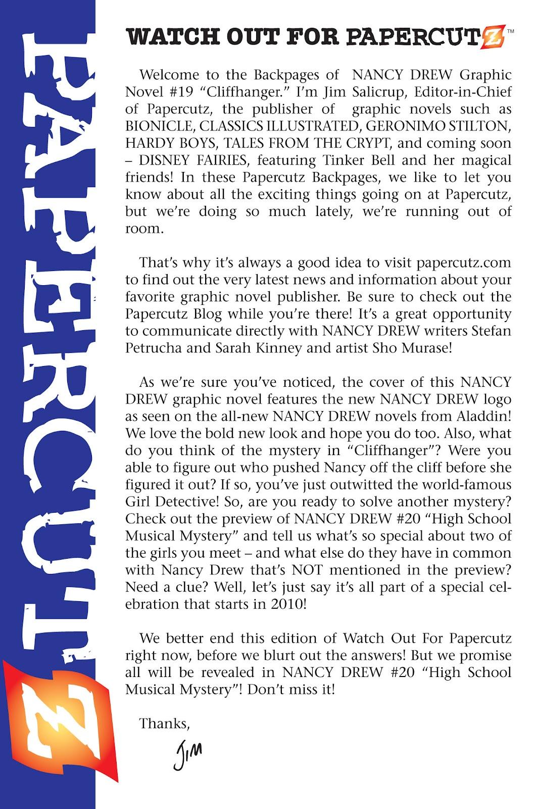 Read online Nancy Drew comic -  Issue #19 - 83