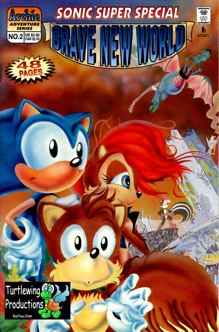 Read online Sonic Super Special comic -  Issue #2 - Brave new world - 3