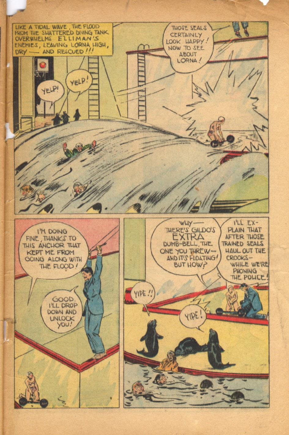 Read online Super-Magician Comics comic -  Issue #54 - 48