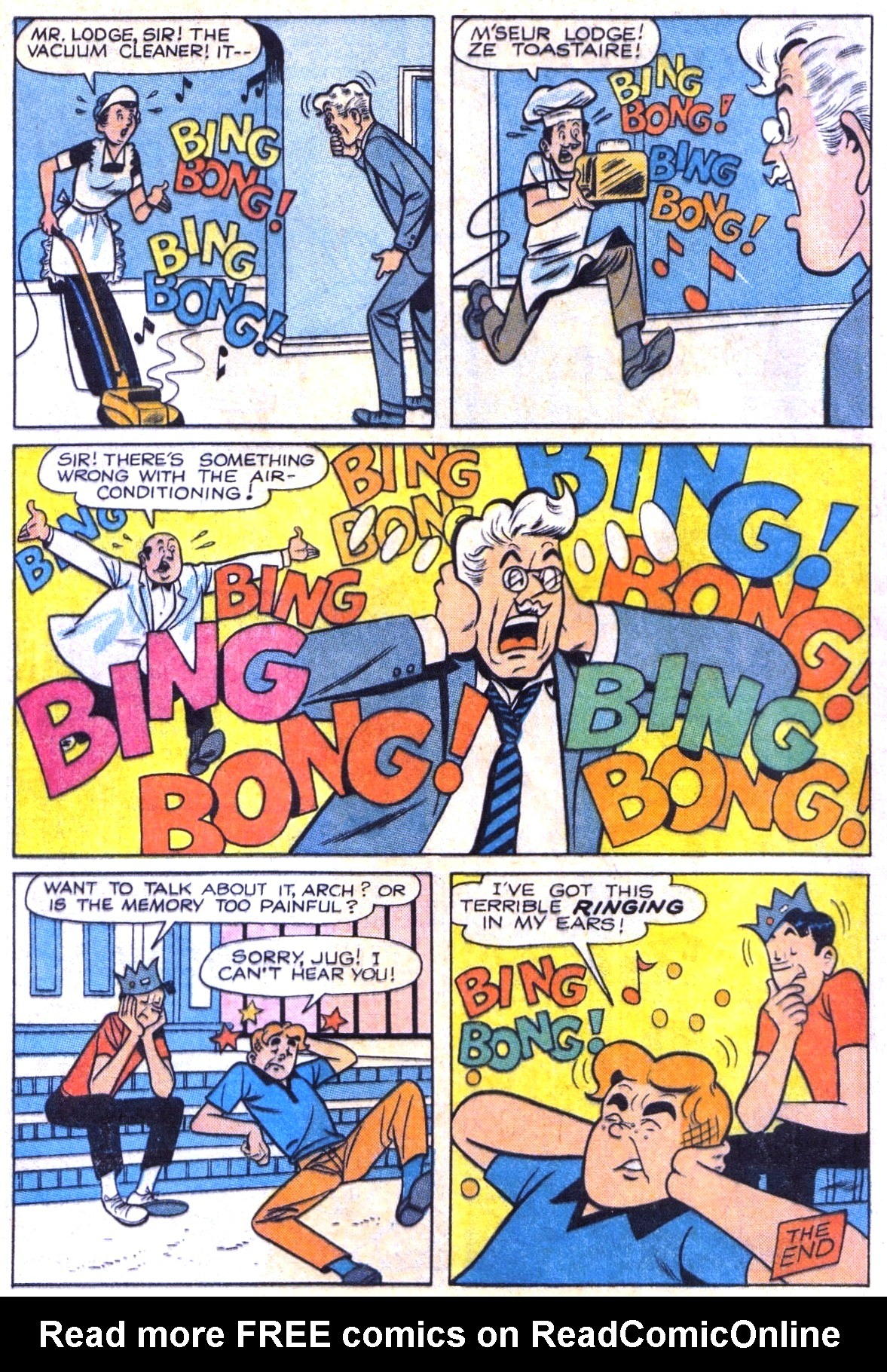 Read online Archie (1960) comic -  Issue #164 - 8