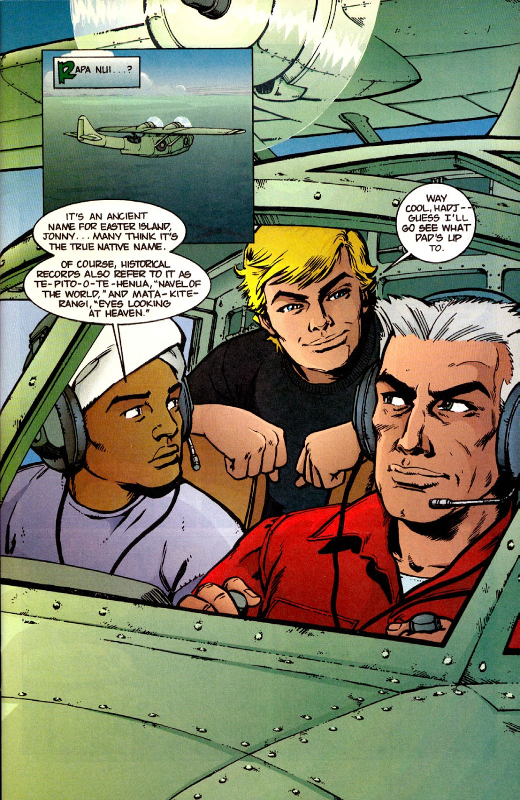 Read online The Real Adventures of Jonny Quest comic -  Issue #12 - 3