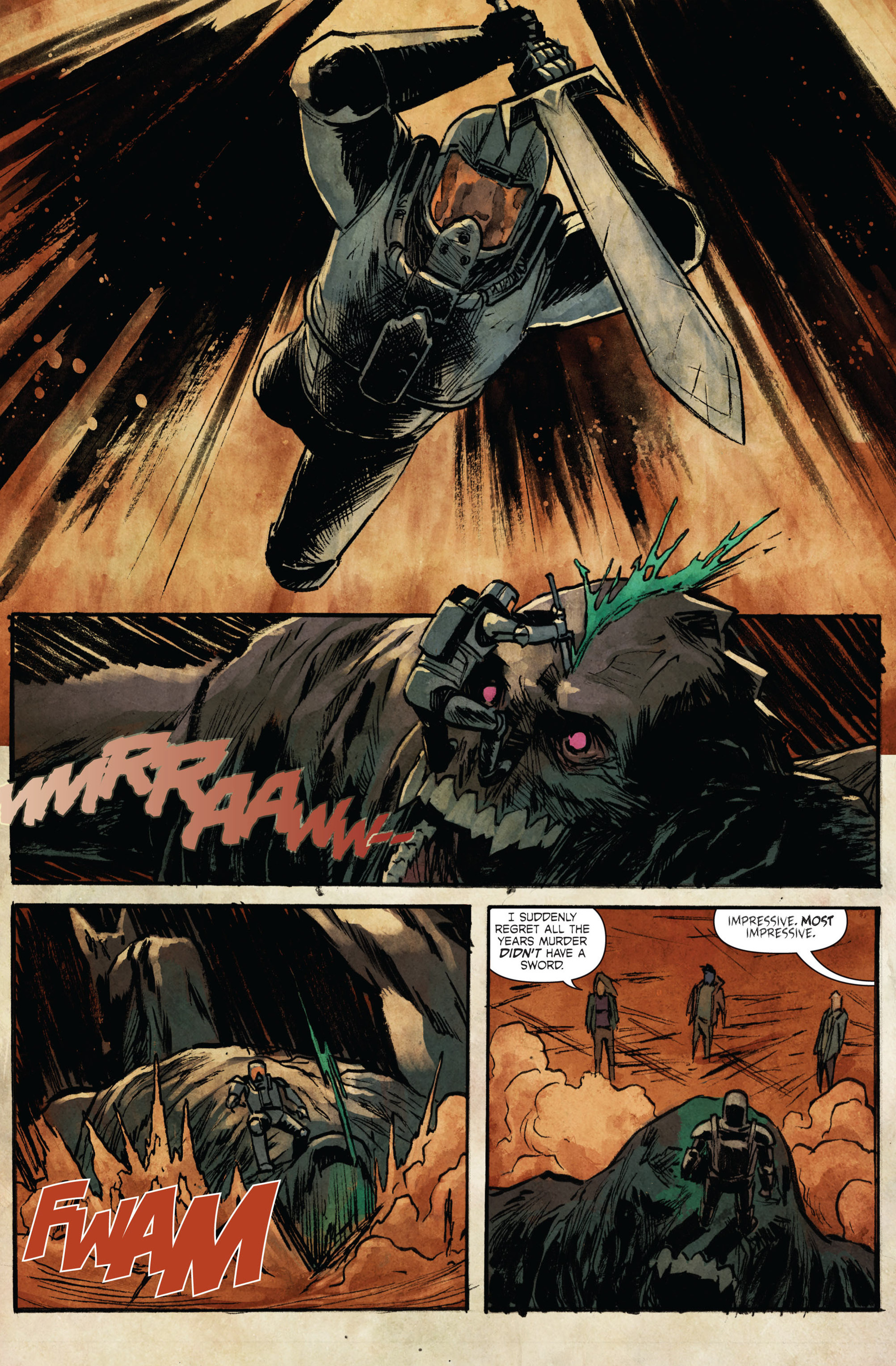 Read online Hoax Hunters (2015) comic -  Issue #3 - 20