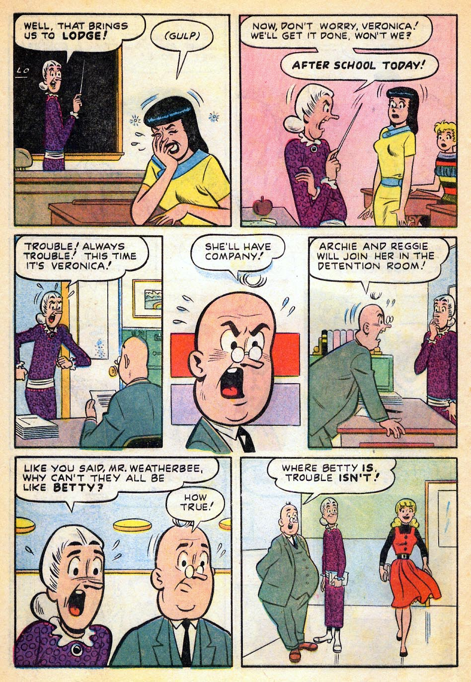 Read online Archie's Girls Betty and Veronica comic -  Issue #51 - 31