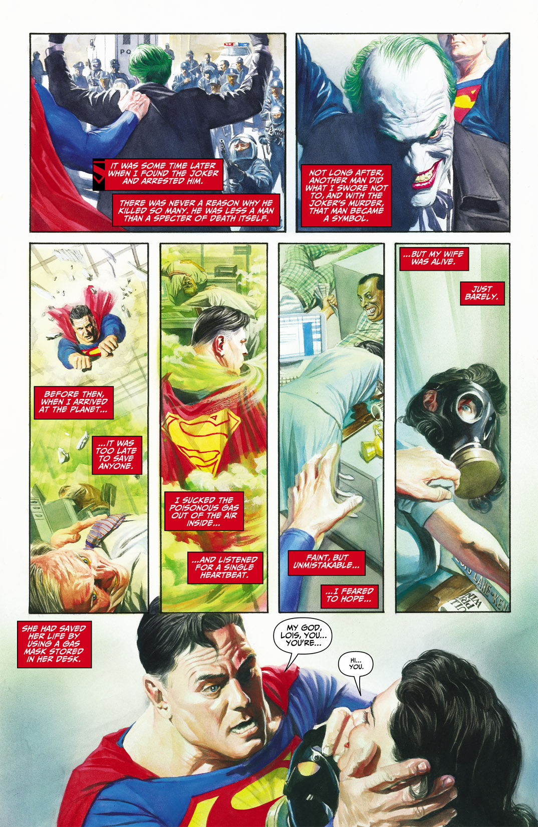 Read online JSA Kingdom Come Special: Superman comic -  Issue # Full - 21