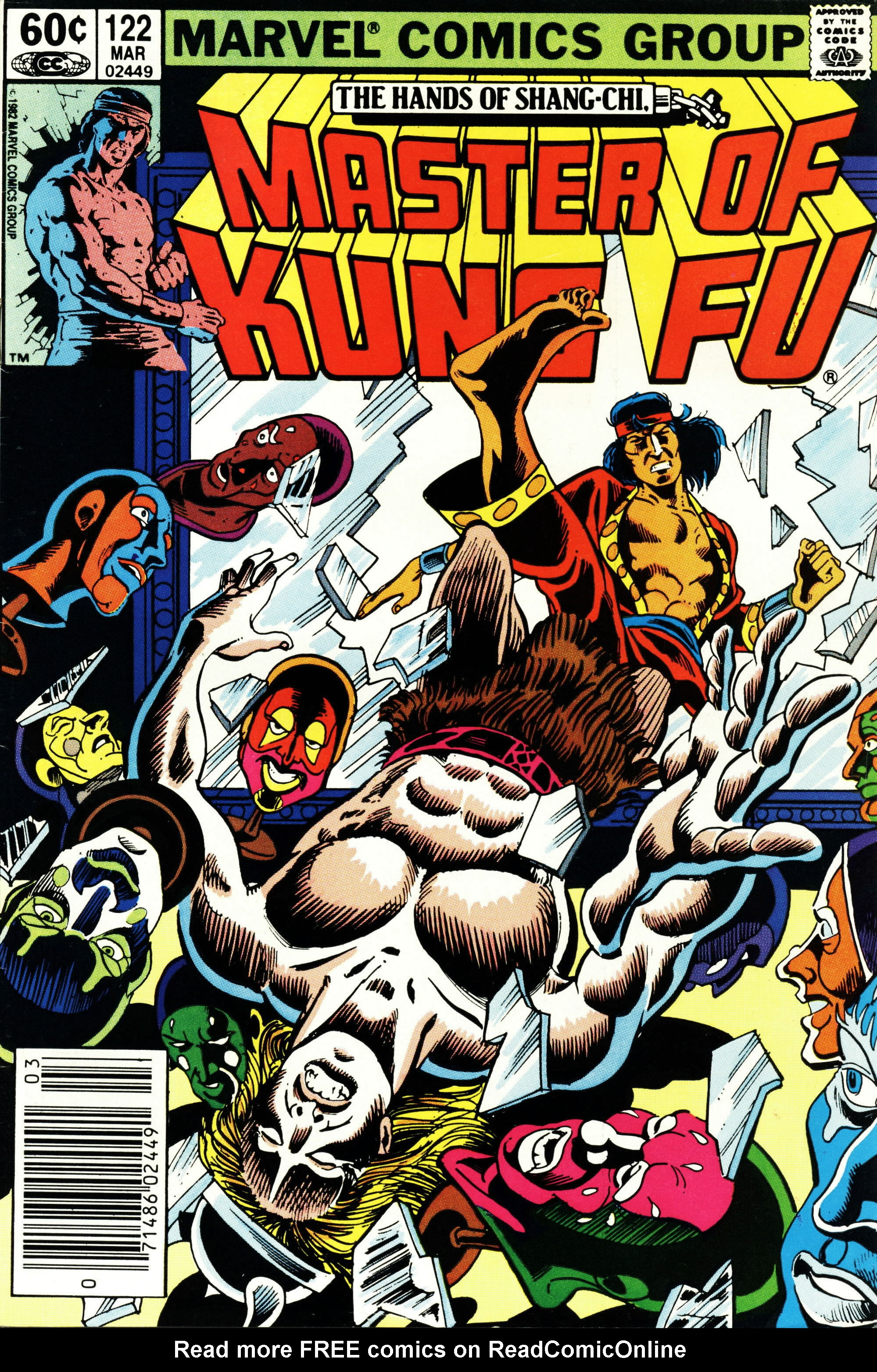 Read online Master of Kung Fu (1974) comic -  Issue #122 - 1