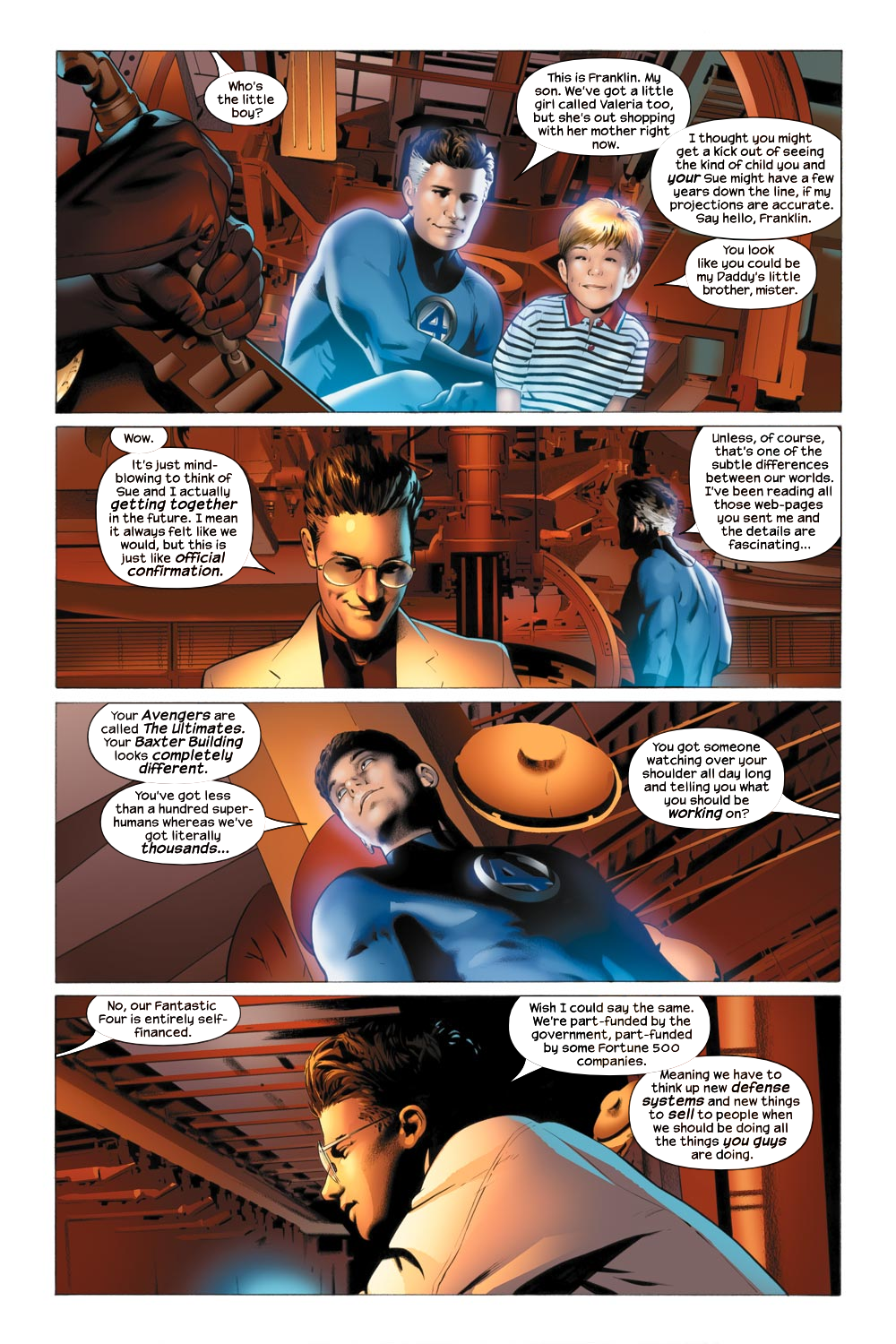 Read online Ultimate Fantastic Four (2004) comic -  Issue #21 - 18