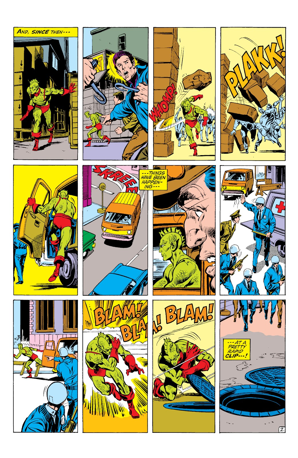 Read online Marvel Masterworks: The Inhumans comic -  Issue # TPB 1 (Part 2) - 97