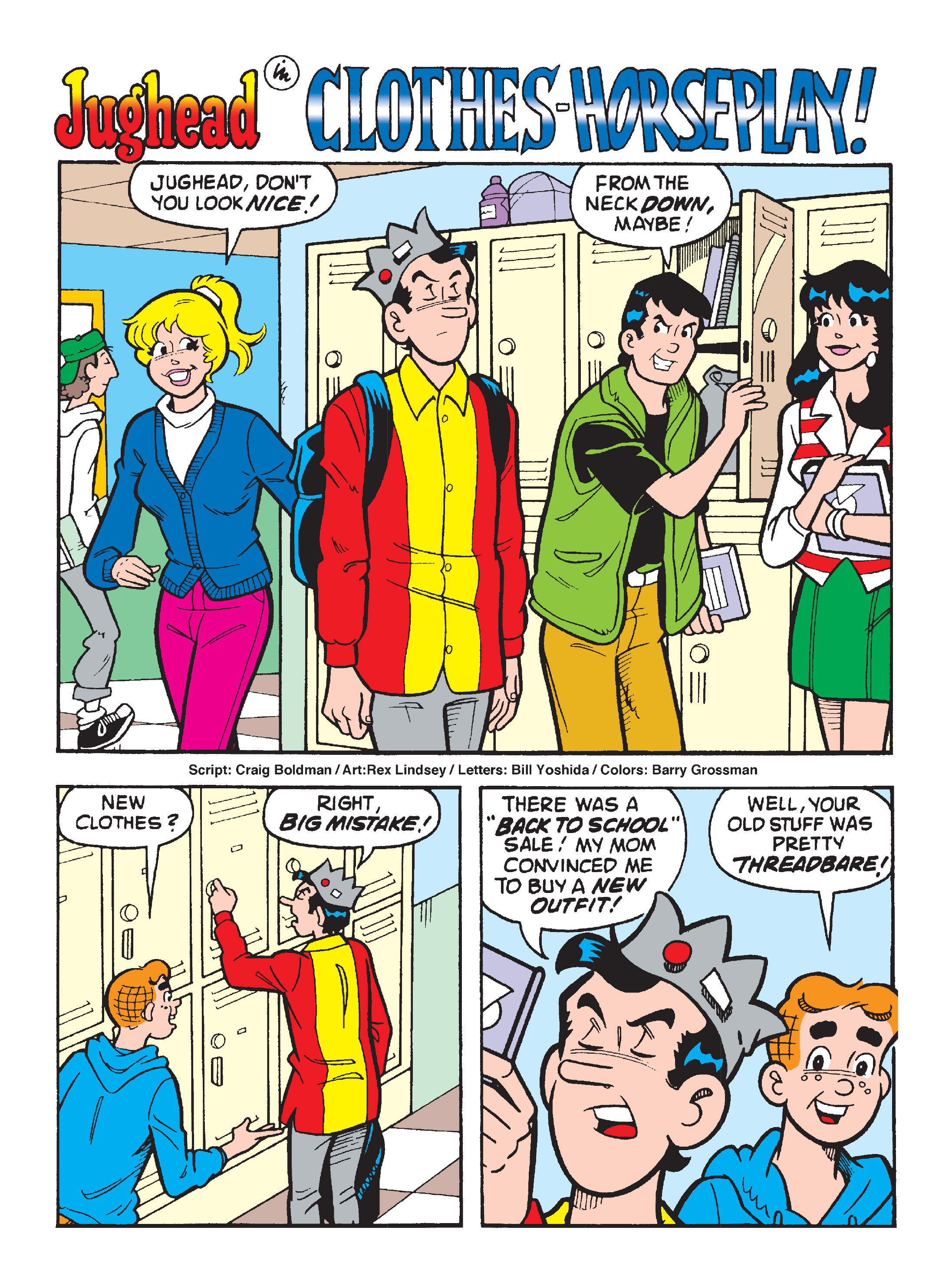 Read online Archie's Funhouse Double Digest comic -  Issue #8 - 105