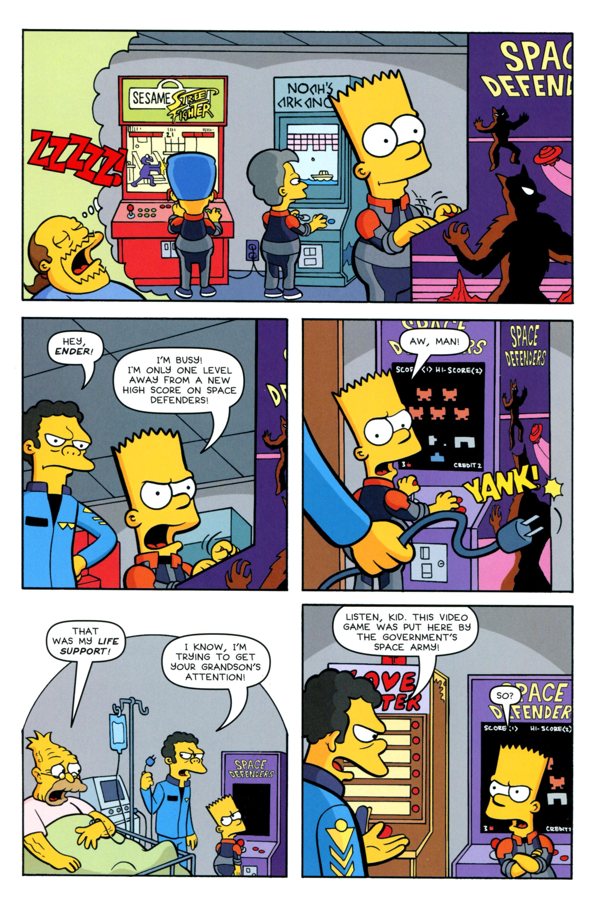 Read online Simpsons Comics comic -  Issue #218 - 18