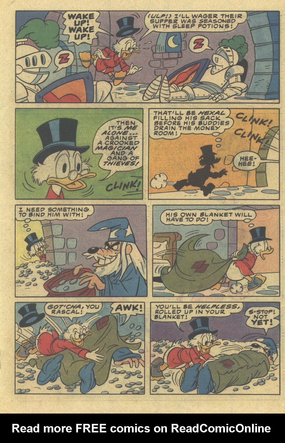 Read online Uncle Scrooge (1953) comic -  Issue #197 - 19