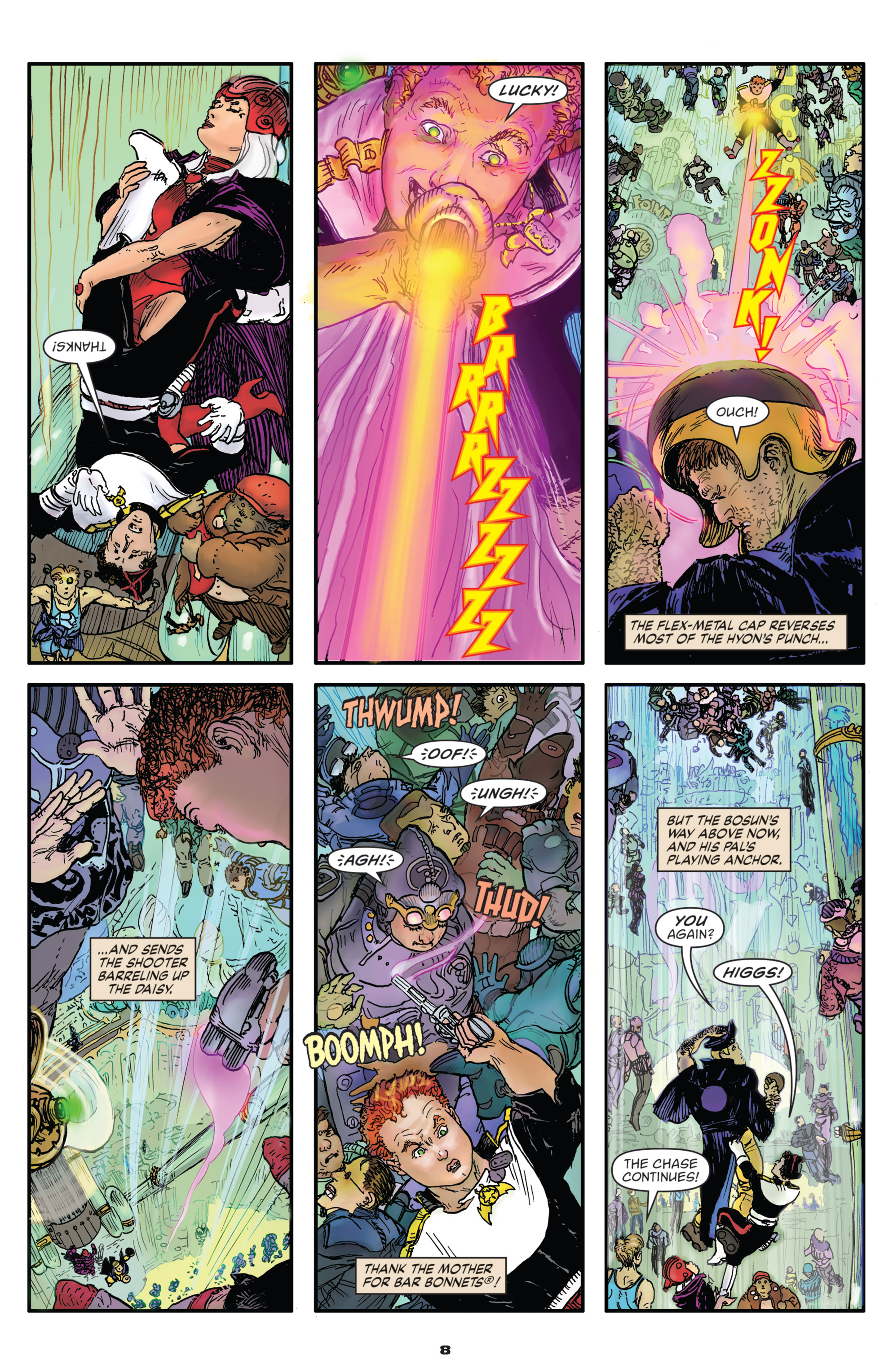 Read online Starstruck: Old Proldiers Never Die comic -  Issue #5 - 10